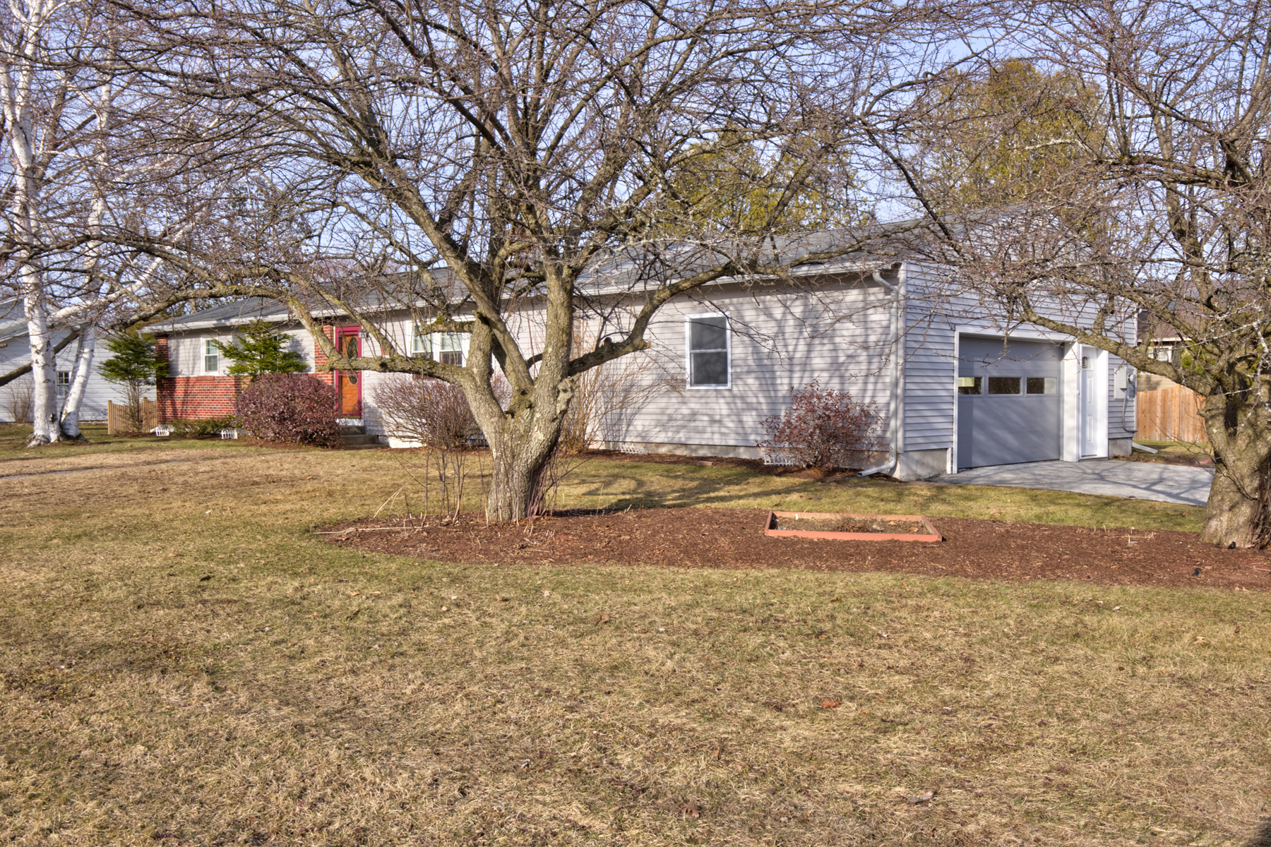 Single Family Homes for Sale at Updated Ranch in Rutland City 22 Hillside Road Rutland, Vermont 05701 United States