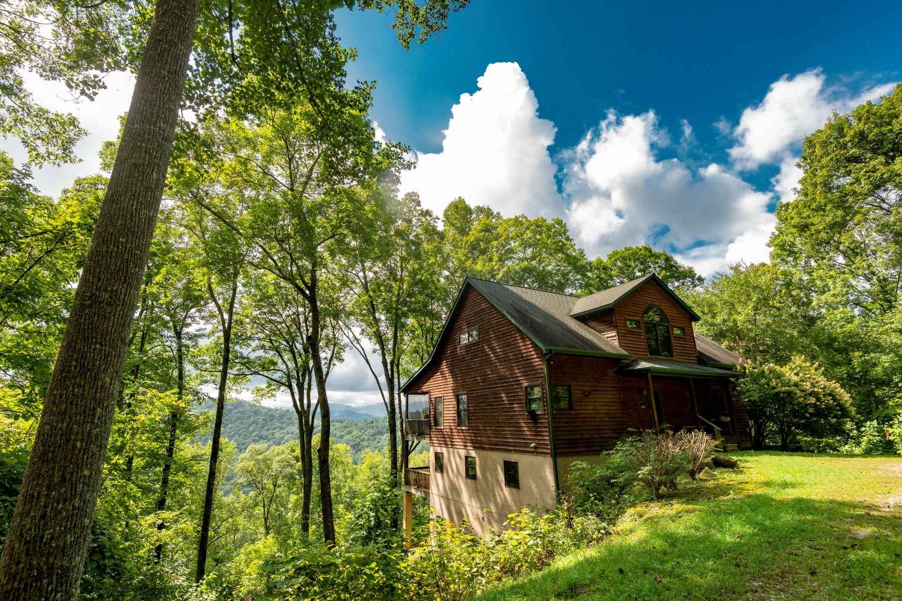 Single Family Home for Active at Hurrah @ Highland Gap 382 Hurrah Ridge Scaly Mountain, North Carolina 28775 United States