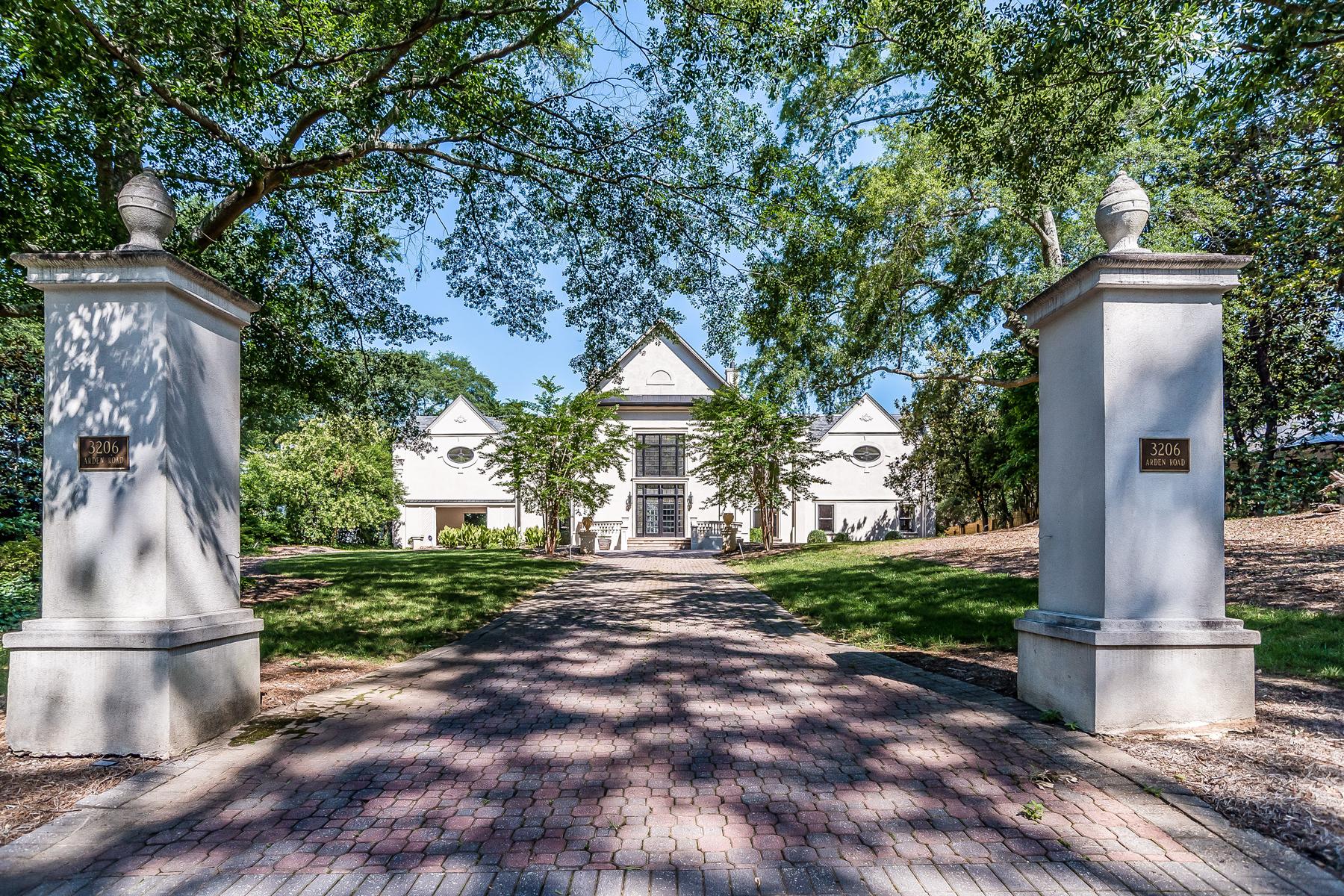 Maison unifamiliale pour l Vente à Lender Owned Buckhead Estate 3206 Arden Road NW Buckhead, Atlanta, Georgia, 30305 États-Unis
