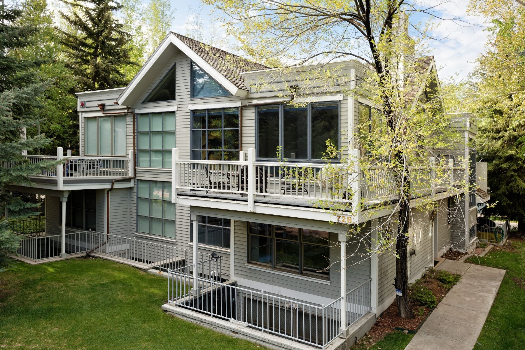 Duplex pour l Vente à West End Townhome 728 W Bleeker Street Aspen, Colorado, 81611 États-Unis
