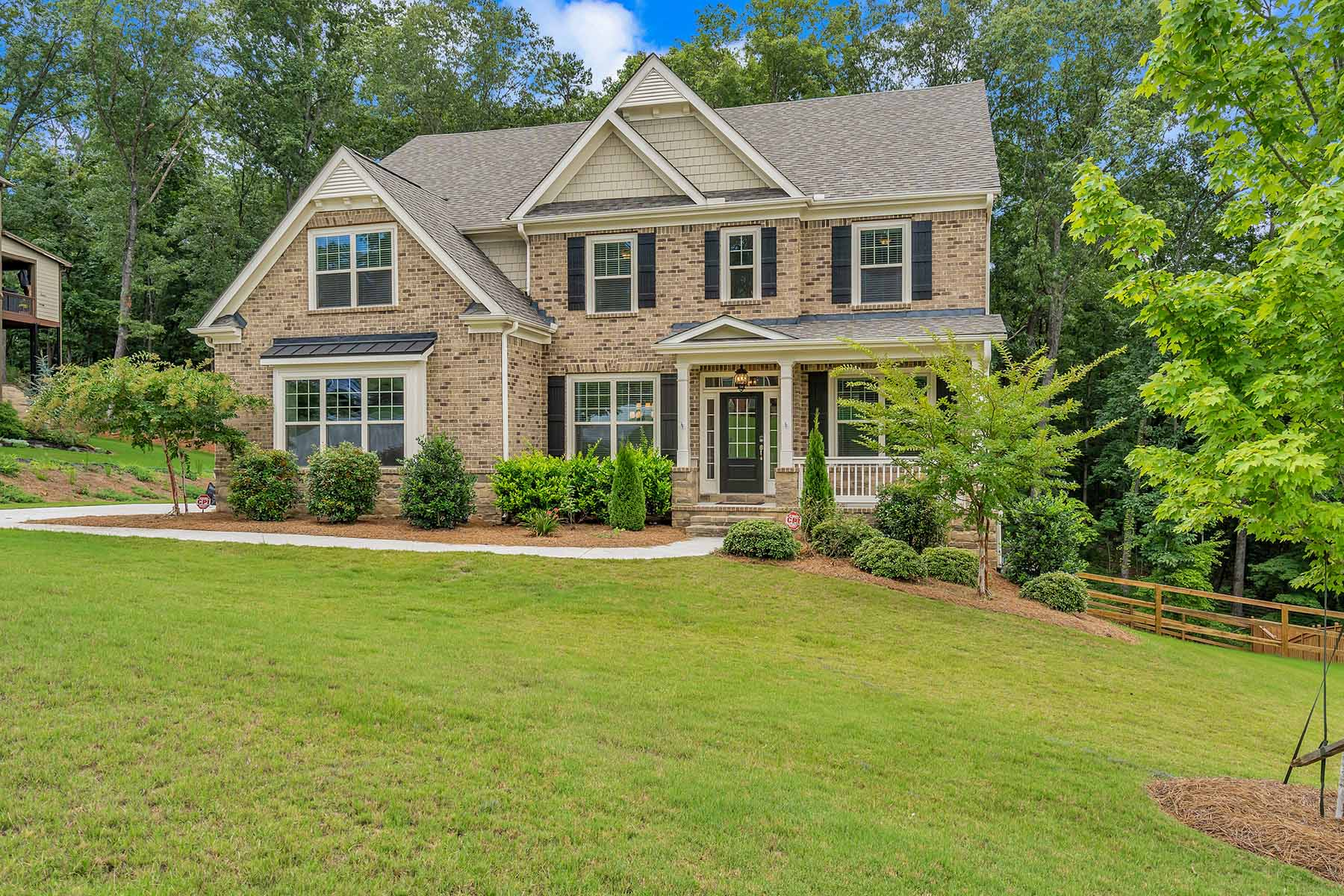 Single Family Homes for Sale at Sophisticated Brick Home in Sought-After Westpark Community 4532 Sterling Pointe Dr Kennesaw, Georgia 30152 United States