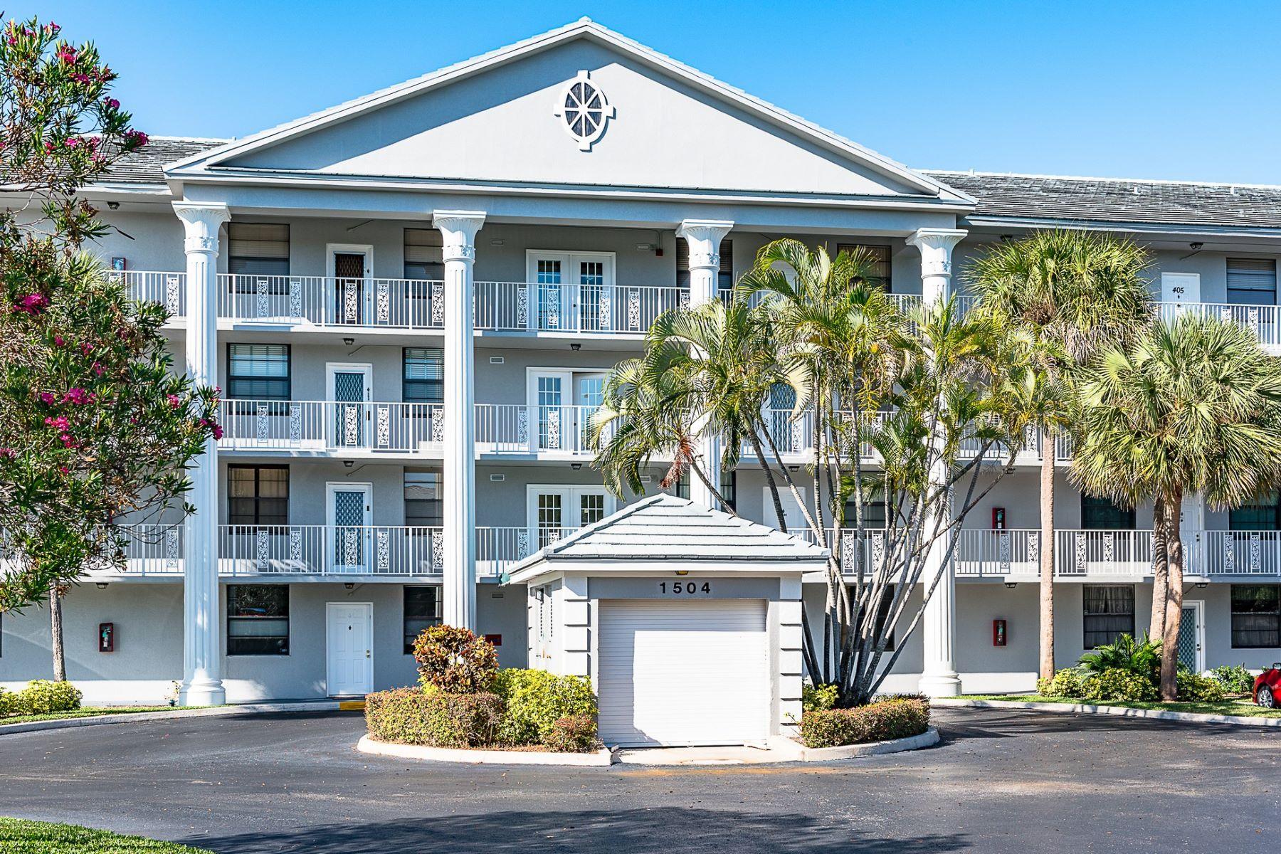 Appartement en copropriété pour l Vente à 1504 Whitehall Dr. # 402 Davie, Florida, 33324 États-Unis