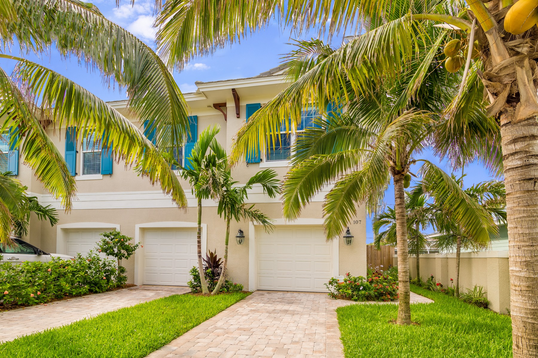 Single Family Home for Sale at 107 Seventh Avenue Indialantic, Florida 32903 United States