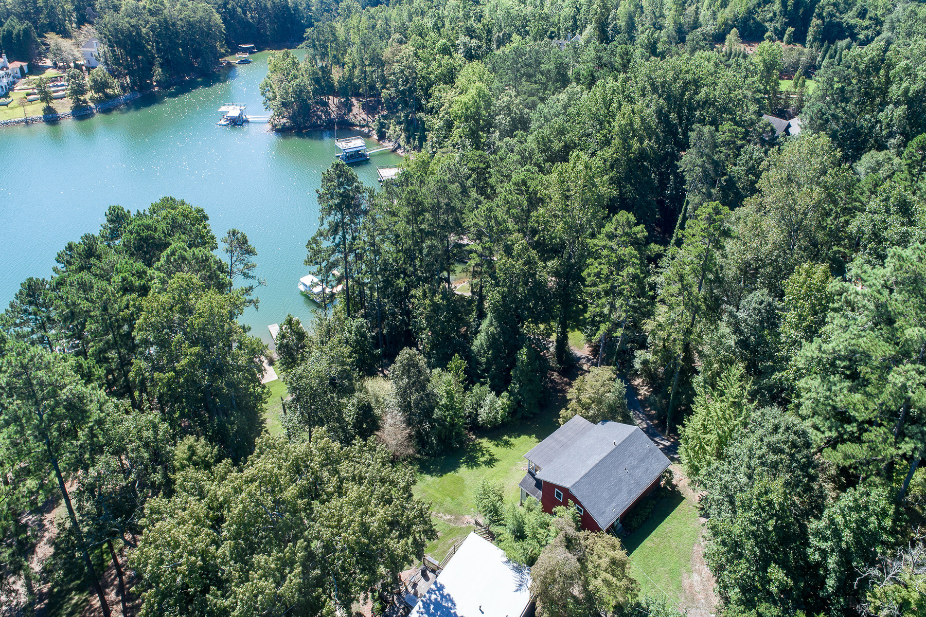 Land for Sale at Prime Lake Lanier Location! Renovate Or Build New! 6579 Garrett Road Buford, Georgia 30518 United States