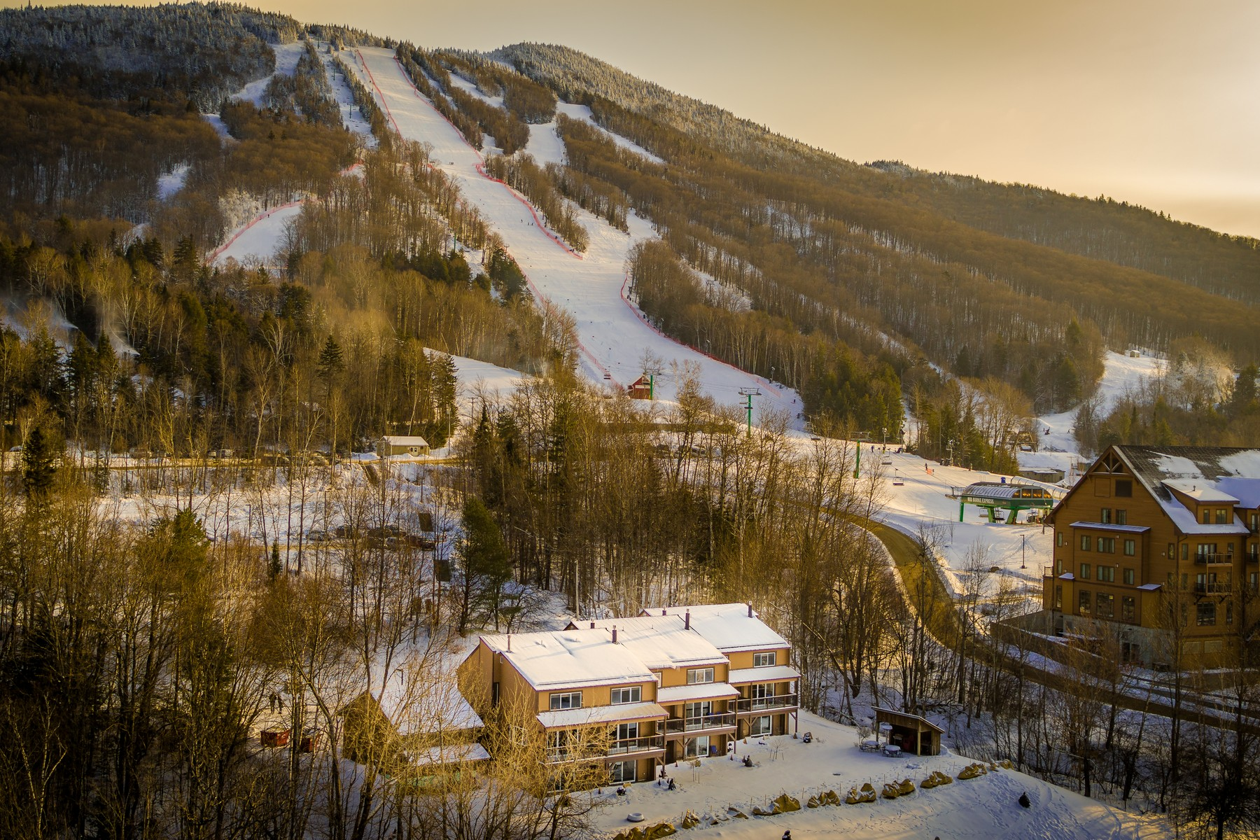 Single Family Home for Sale at Burke Mountain Resort Condominium 2426 Mountain Rd 1 Burke, Vermont 05832 United States