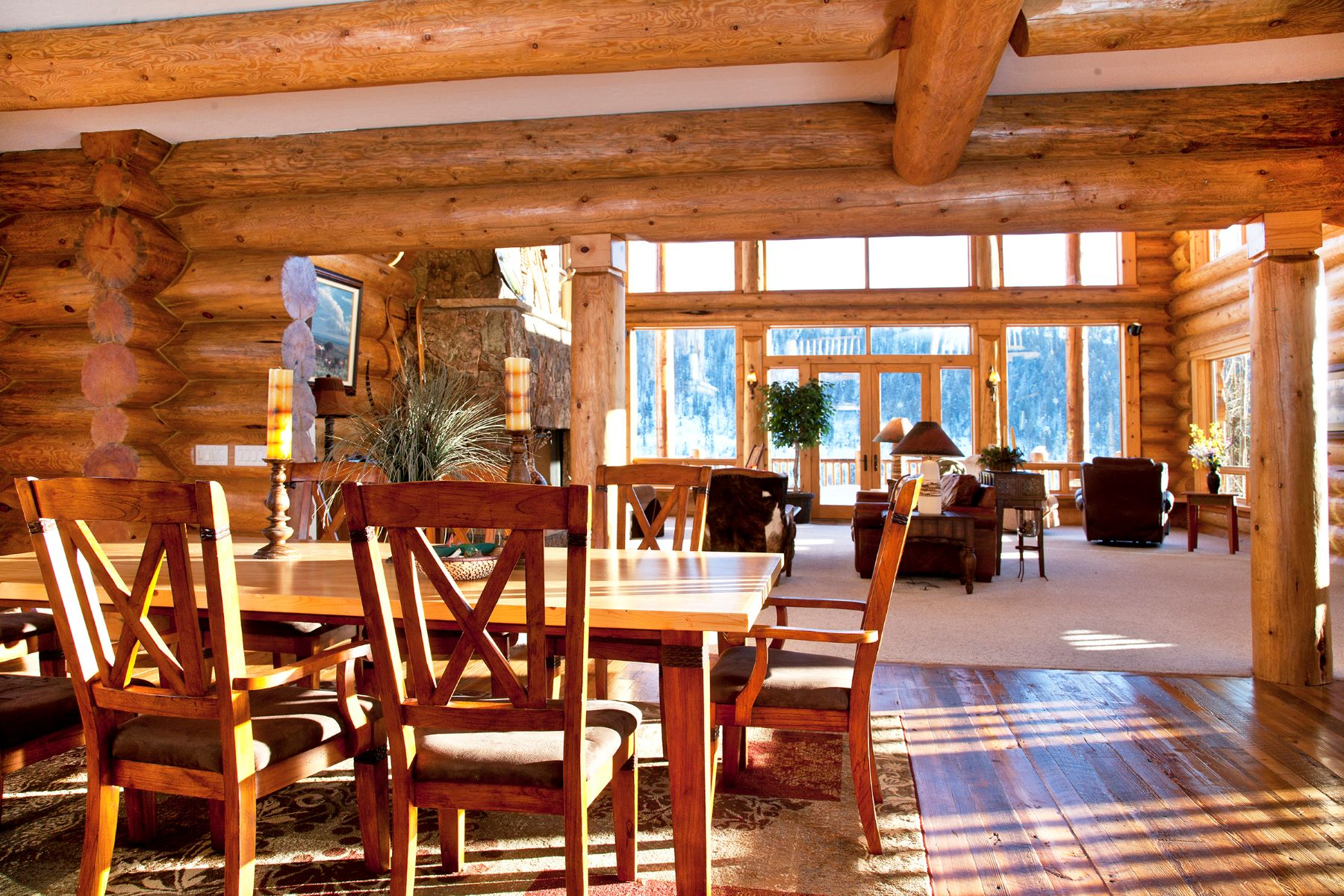 Additional photo for property listing at Sanctuary Log Home 2600 Heavenly View Steamboat Springs, Colorado 80487 United States