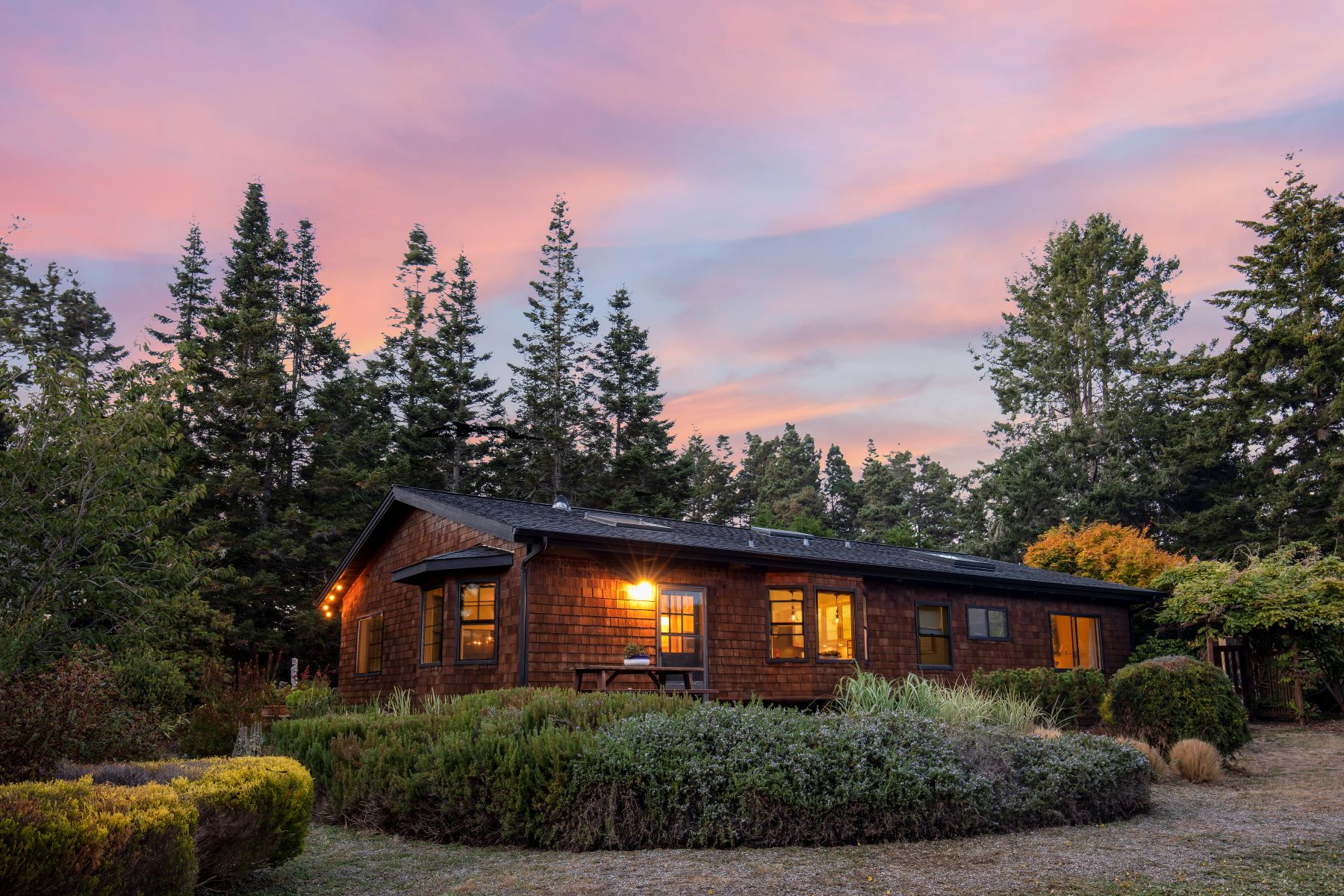 Single Family Home for Sale at Alderwood Court 12101 Alderwood Court Mendocino, California 95460 United States