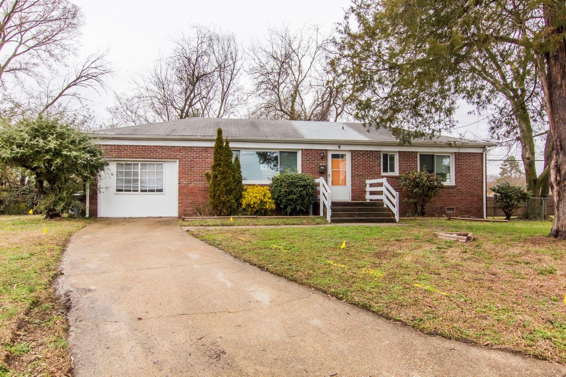 Casa Unifamiliar por un Venta en Hiland Park 8 Rhonda Circle, Hampton, Virginia, 23669 Estados Unidos