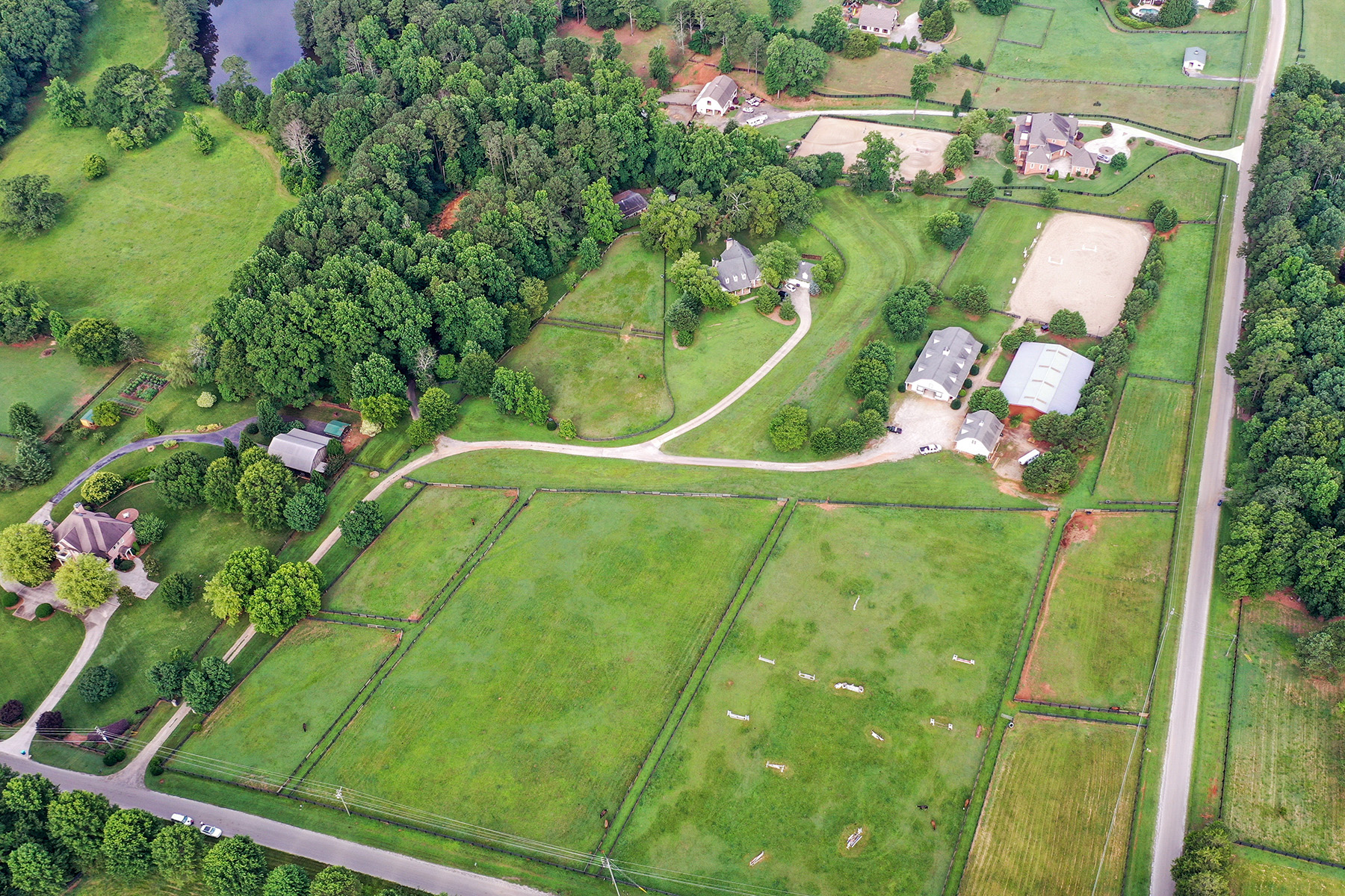 Additional photo for property listing at Magnificent Equestrian Estate In Prime Milton Horse Country 13800 Brittle Road, Milton, ジョージア 30004 アメリカ
