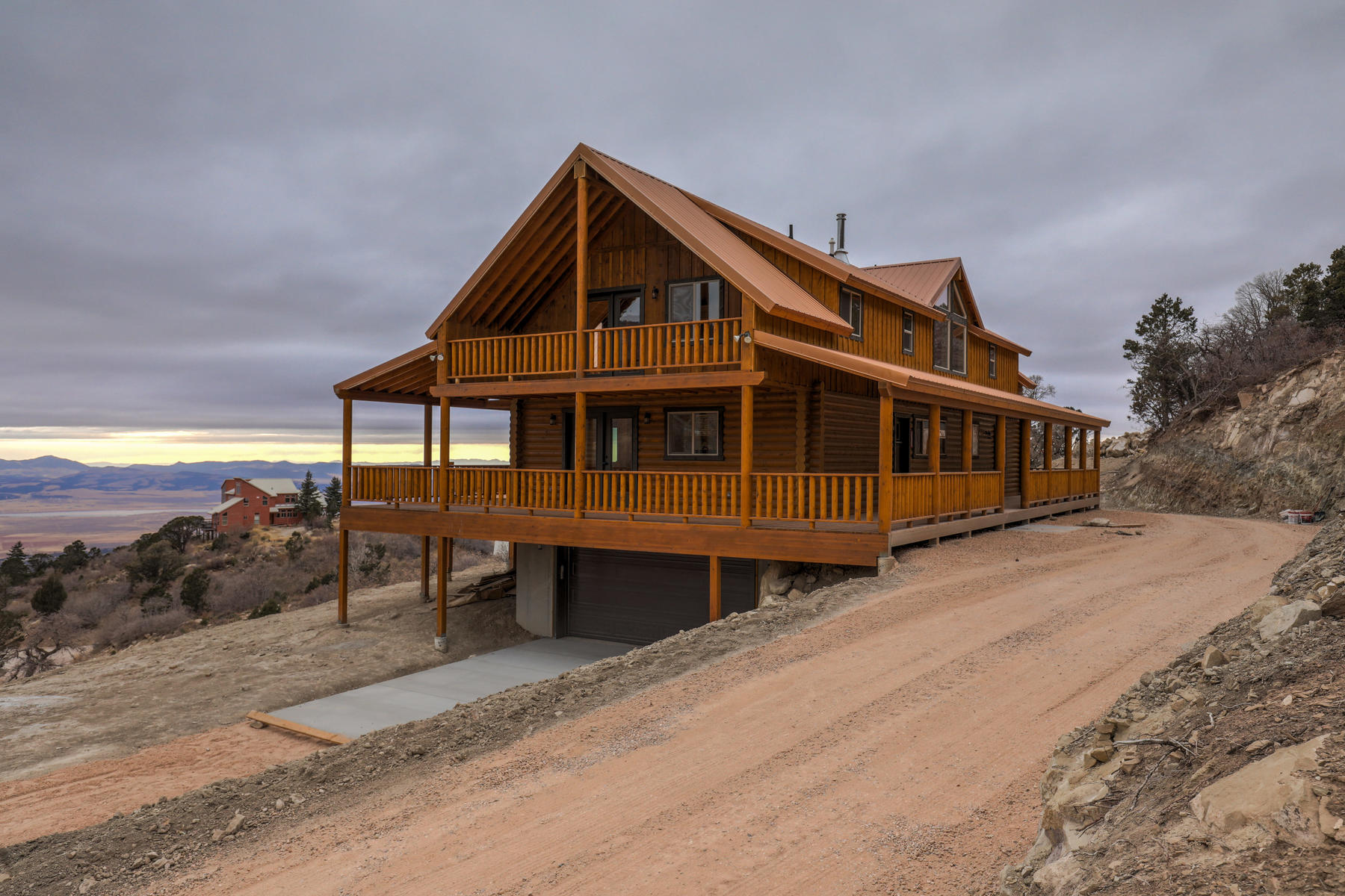 Single Family Homes for Sale at New Cabin On Top Of The Mountain 1247 E Cedar Highlands Drive, Cedar City, Utah 84720 United States