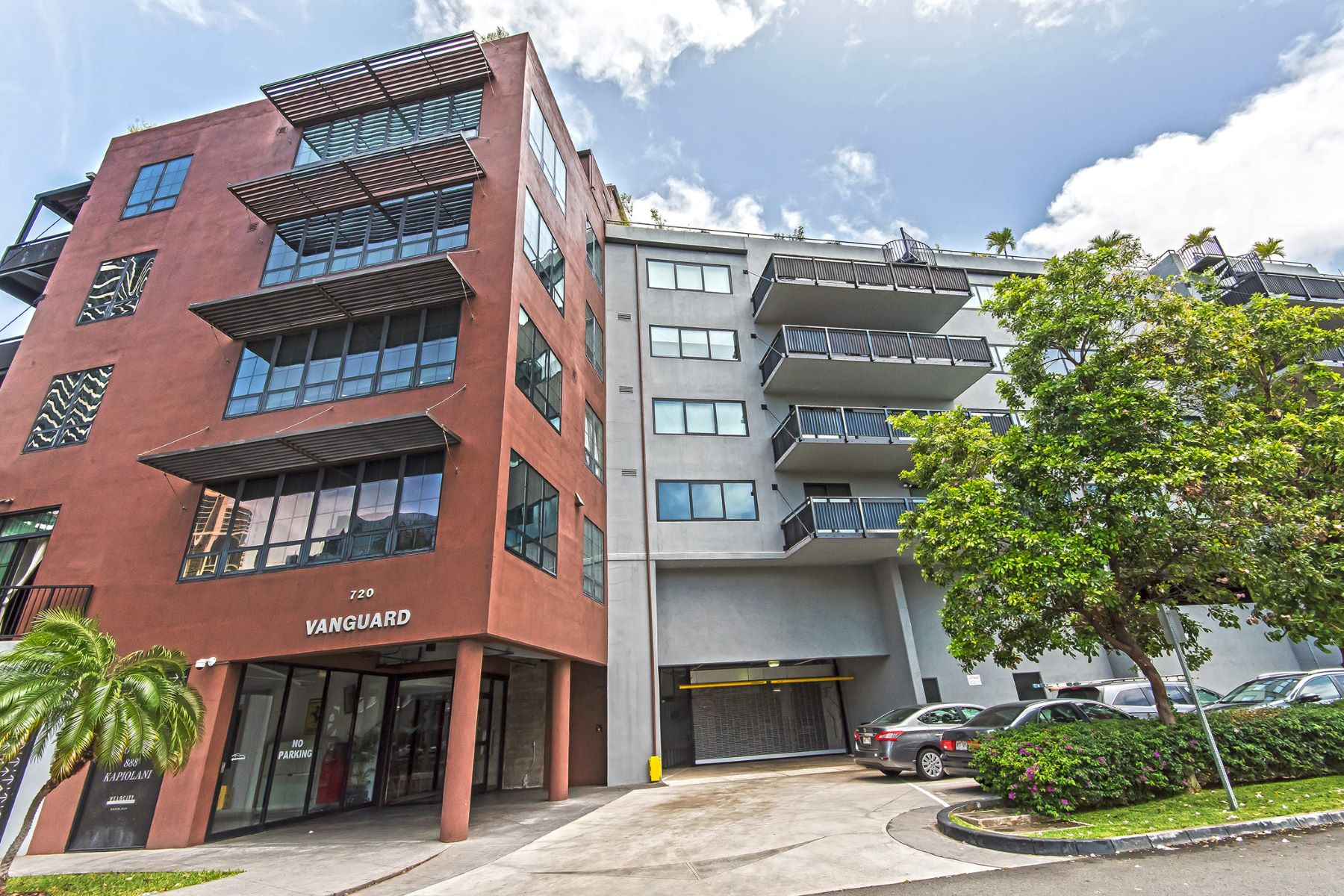 共管式独立产权公寓 为 销售 在 Kakaako Loft 720 Kapiolani Boulevard #306 Kakaako, 火奴鲁鲁, 夏威夷, 96813 美国