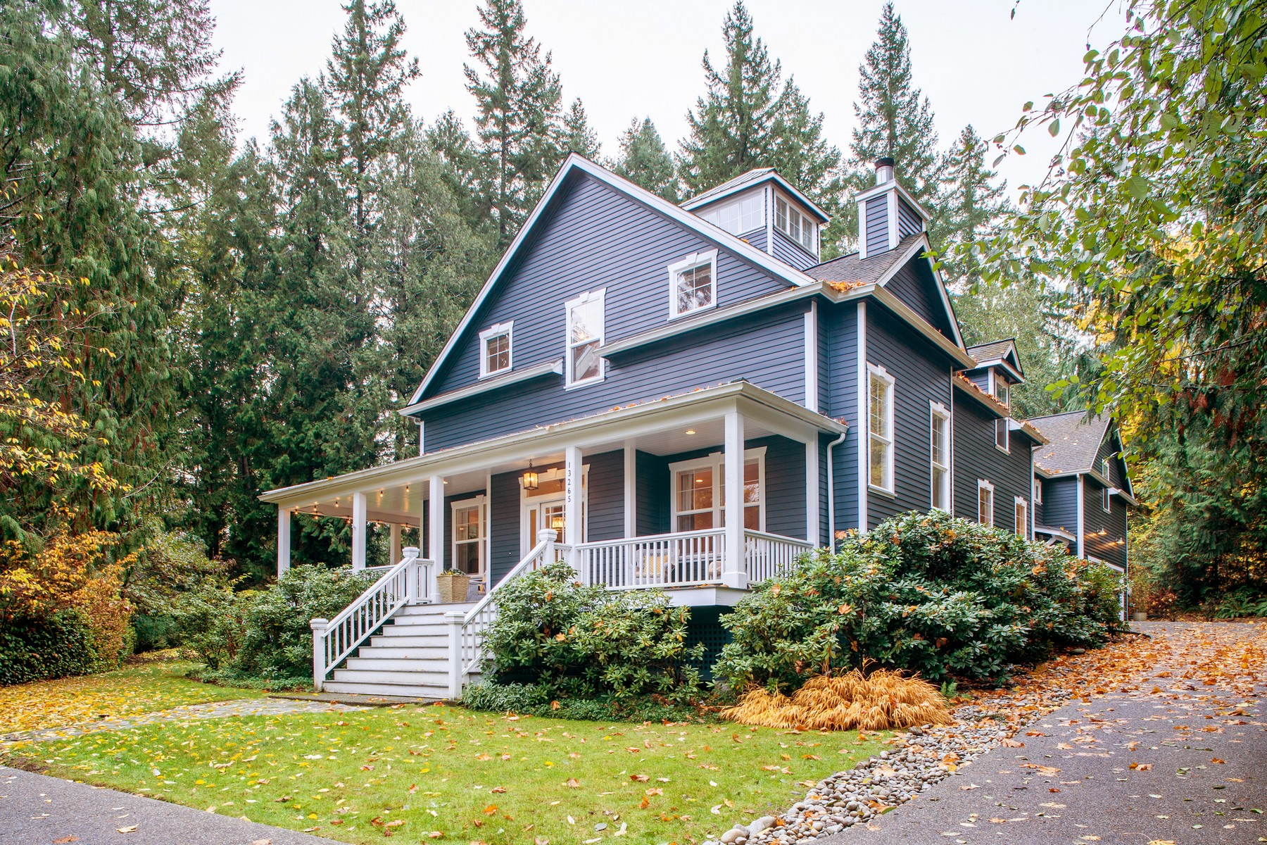 Single Family Home for Sale at Traditional meets Sophisticated Elegance 13265 Fairfield Place NE, Bainbridge Island, Washington, 98110 United States