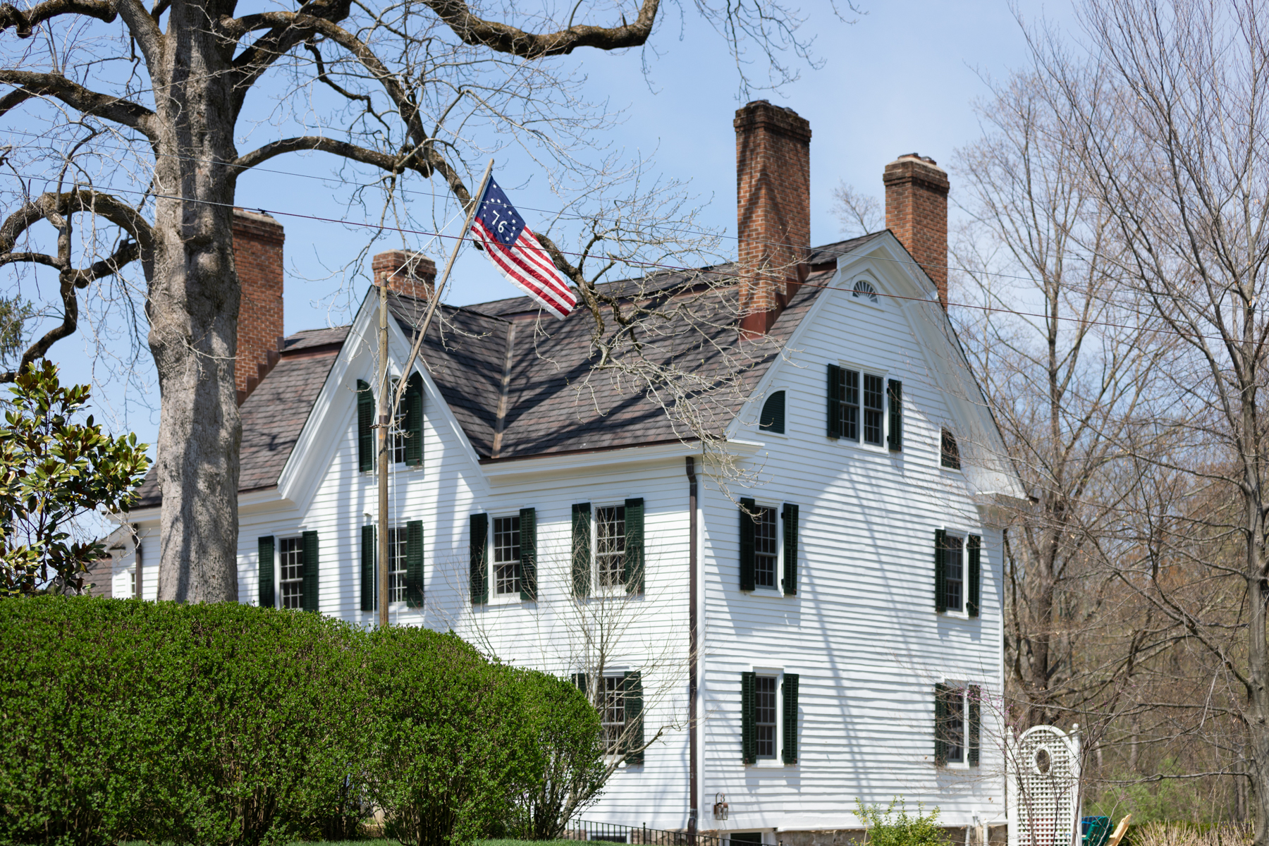 Moradia para Venda às Historic Colonial 277 Childs Road, Basking Ridge, Nova Jersey 07920 Estados Unidos