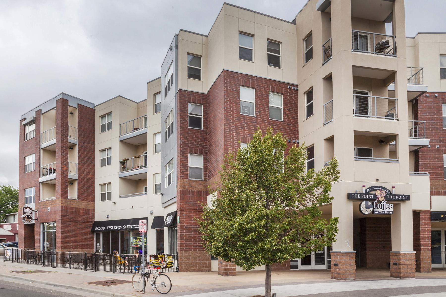 Townhouse for Active at New Townhome With The Best City Lifestyle and Location Available! 2200 Tremont Place #7 Denver, Colorado 80205 United States