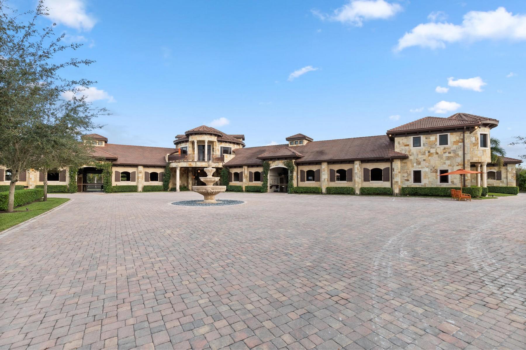 农场 / 牧场 / 种植园 为 销售 在 3410 Olde Hampton Drive 惠灵顿, 佛罗里达州 33414 美国