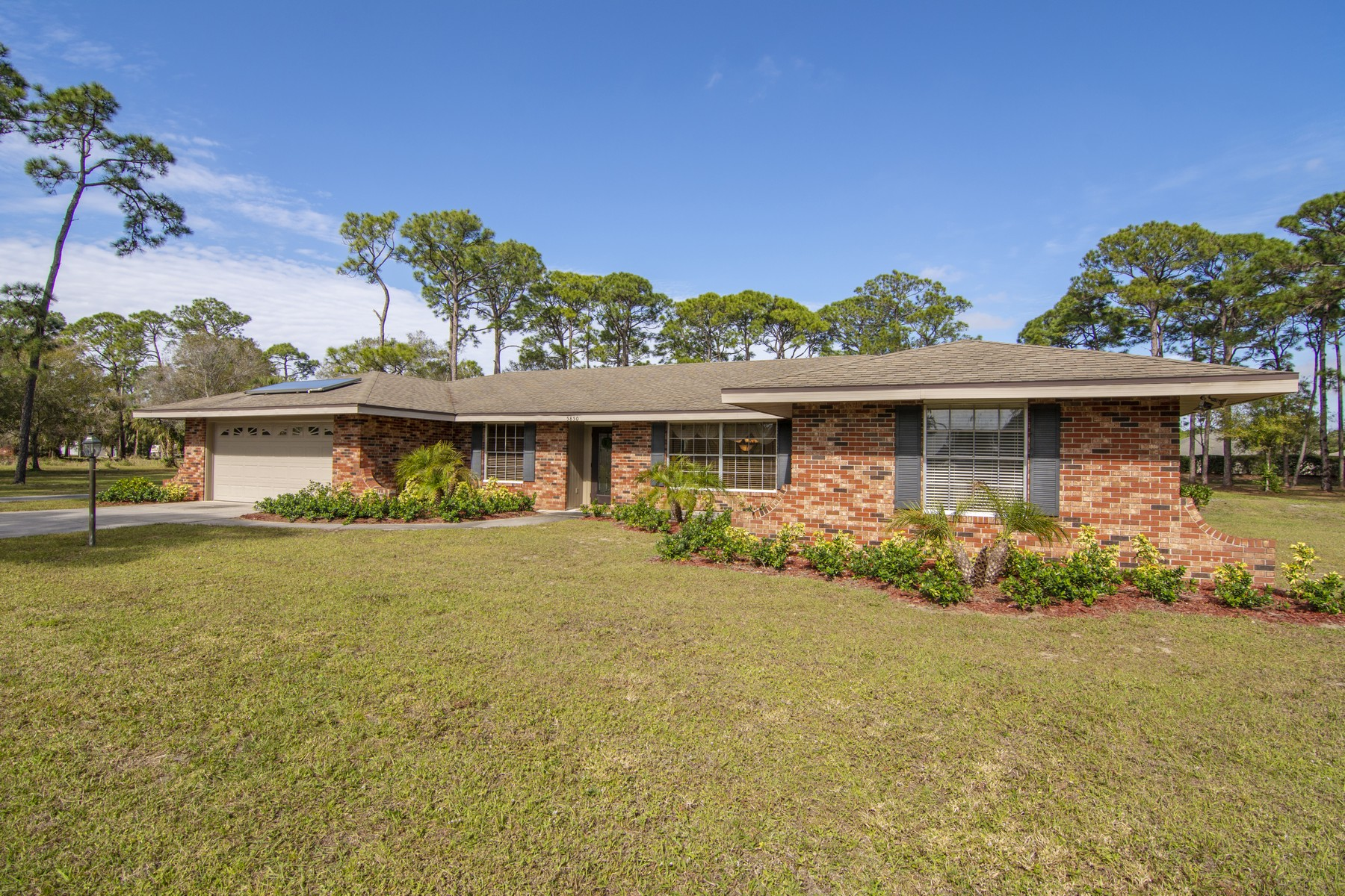 Property for Sale at Over Four Acres, Pool, Newer Everything! 5850 45th Street Vero Beach, Florida 32967 United States