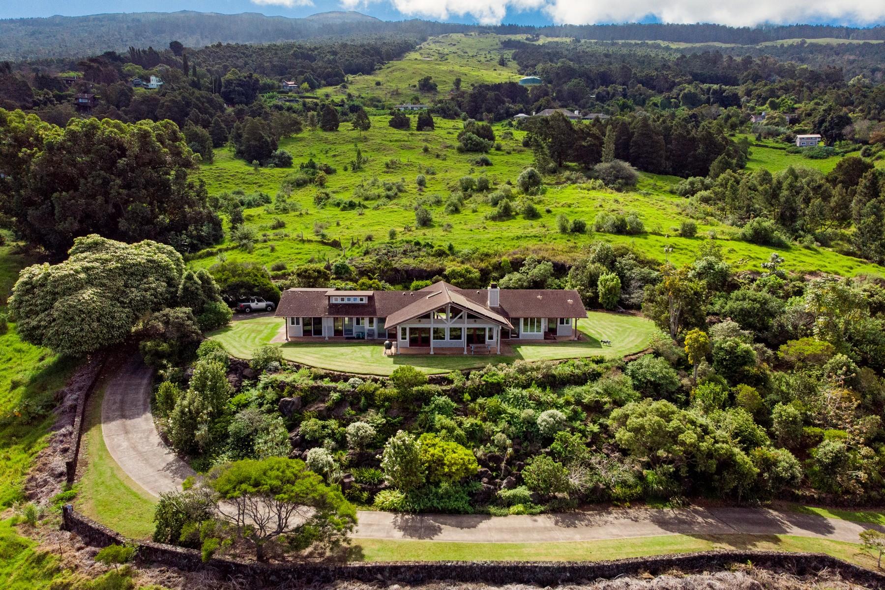 農場 / 牧場 / 種植場 為 出售 在 Stunning 7 Acre Kula Property Surrounded by Native Hawaiian Landscaping 165 Maukanani Rd, Kula, 夏威夷 96790 美國