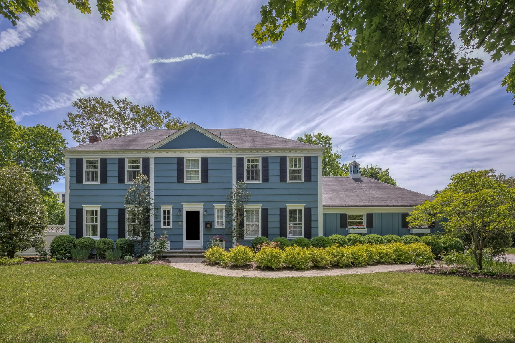 Single Family Homes for Sale at Stunning Colonial 1 Shephard Place Morris Township, New Jersey 07960 United States