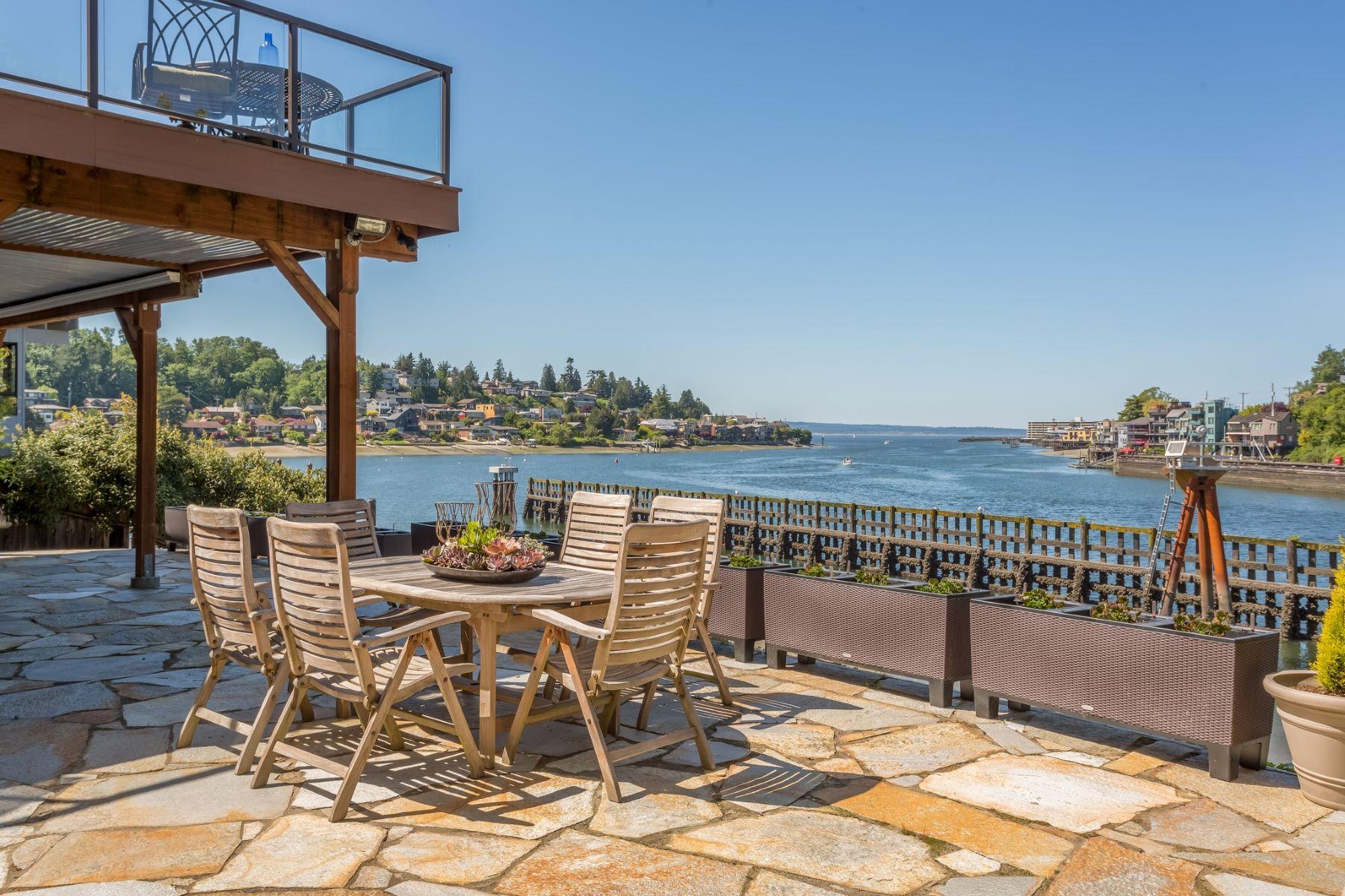 独户住宅 为 销售 在 Salmon Bay NW Contemporary 3500 W Commodore Way Magnolia, 西雅图, 华盛顿州, 98199 美国