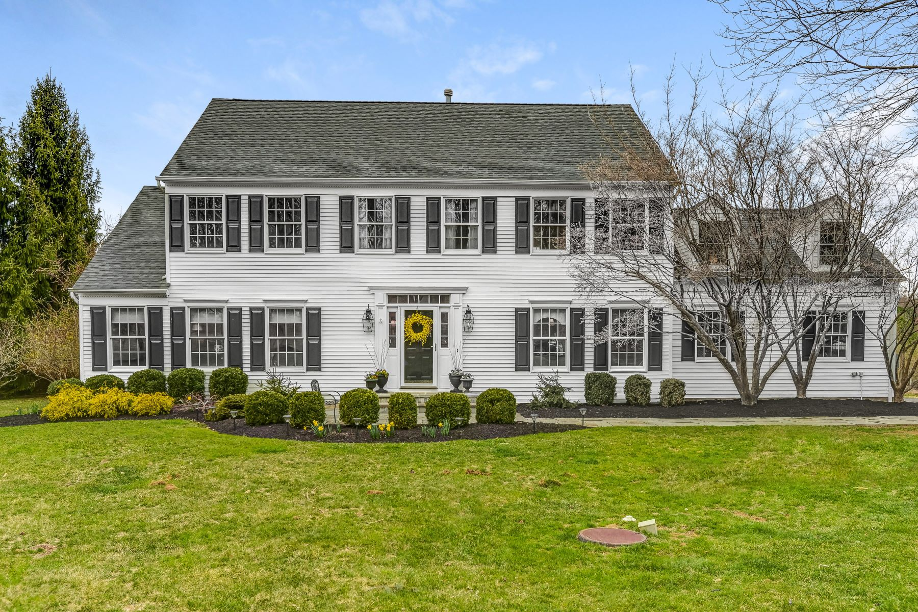 Single Family Home for Sale at Beautiful Setting 9 Willow Drive, Chester, New Jersey 07930 United States
