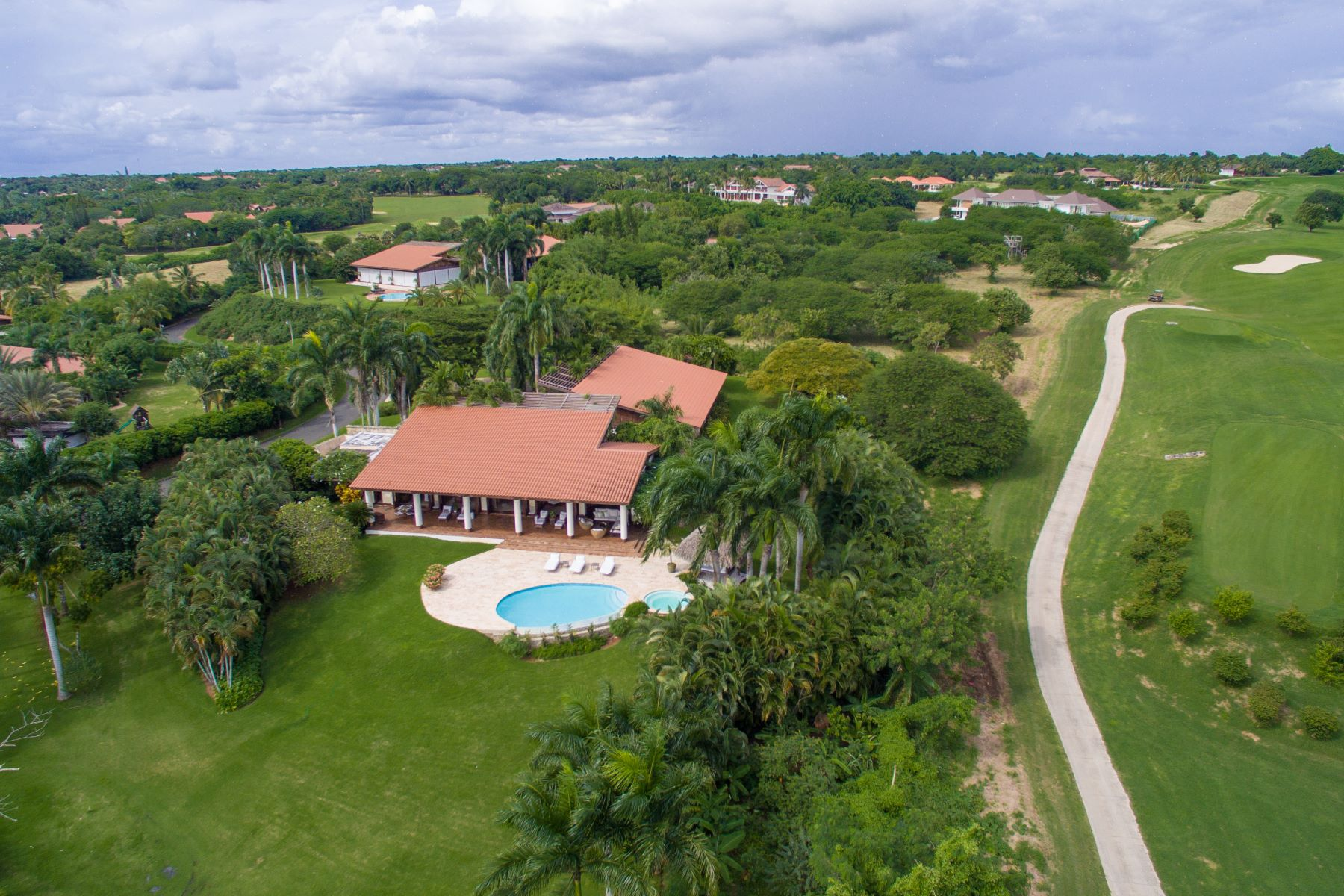 Single Family Home for Rent at Sophisticated Ocean & Golf View Villa Casa De Campo, La Romana Dominican Republic