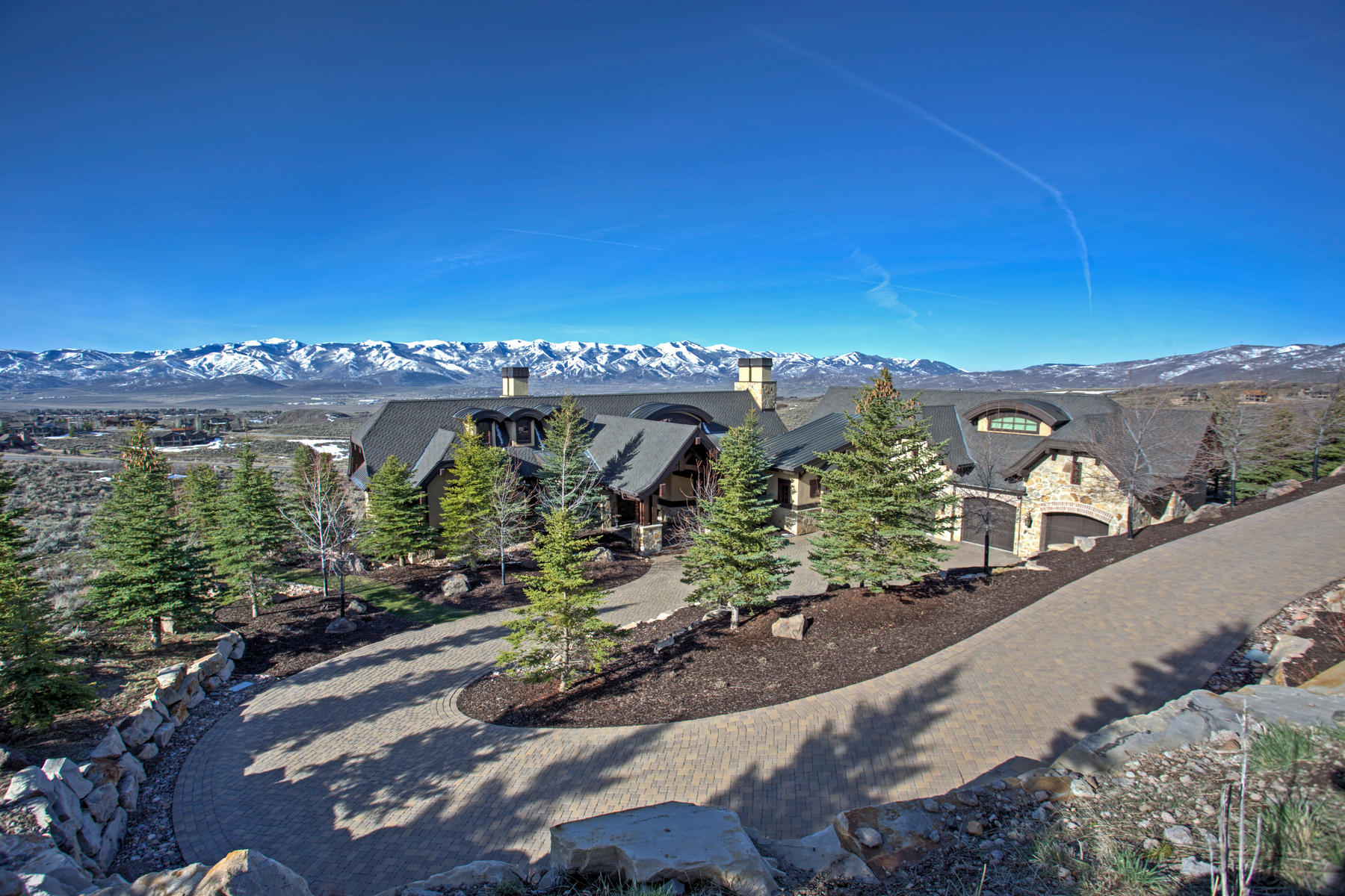 一戸建て のために 売買 アット Superior Construction Quality, Ideal Floorplan and Forever Ski Hill Views 3724 Central Pacific Trl Park City, ユタ, 84098 アメリカ合衆国