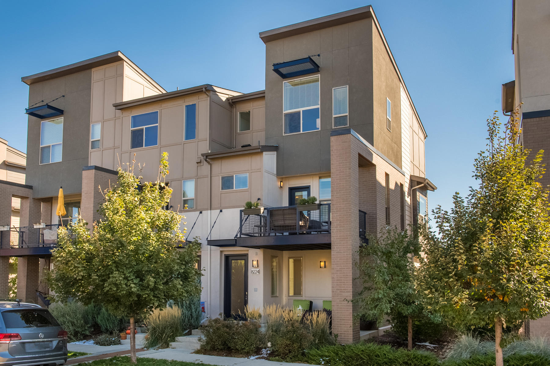 Property for Active at Walk Into The Light Of This Spacious And Contemporary Corner-Unit Townhouse 8224 E 24th Dr Denver, Colorado 80238 United States
