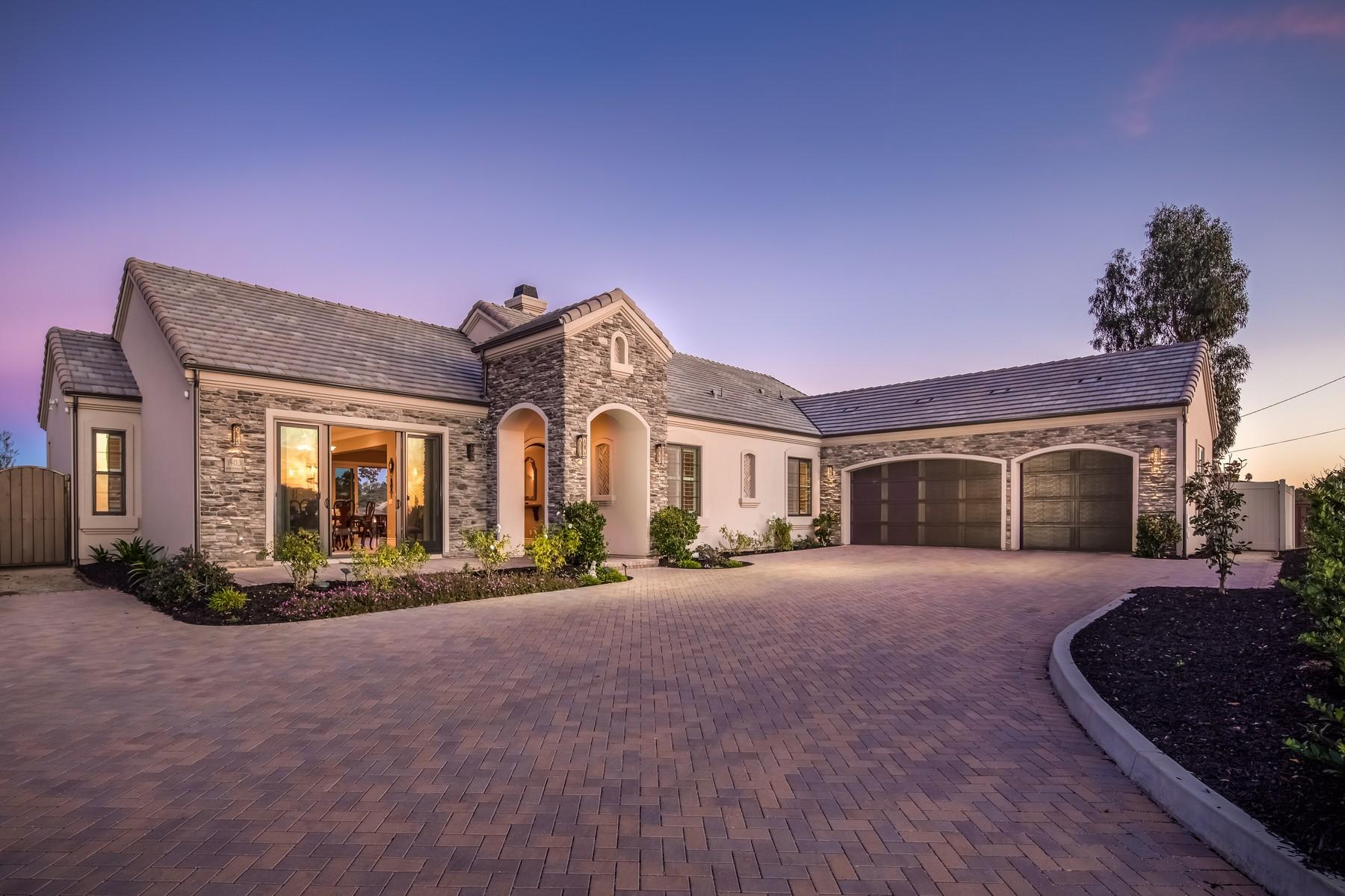 Single Family Homes for Sale at 1403 Rainbow Ridge Lane Encinitas, California 92024 United States