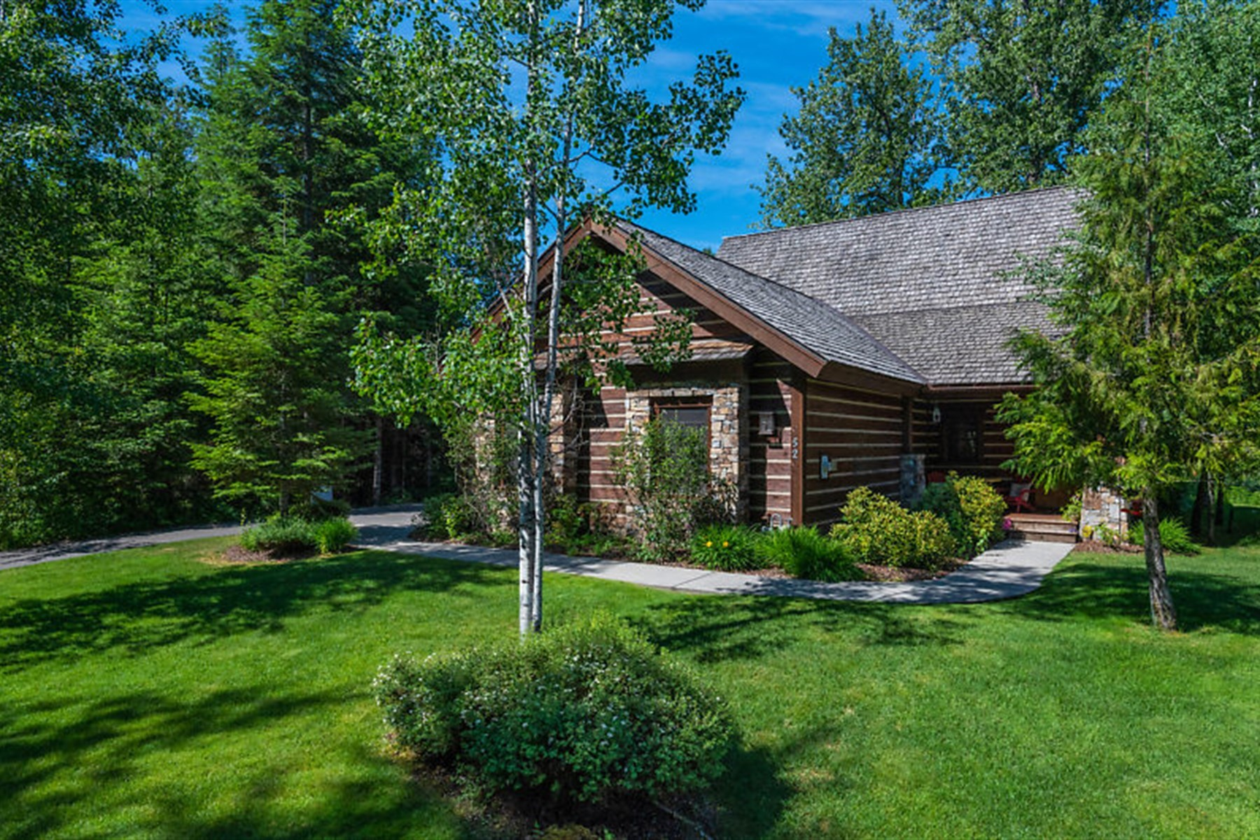 Single Family Homes for Sale at The Idaho Club Lodge Home 52 Waterdance Way Sandpoint, Idaho 83864 United States