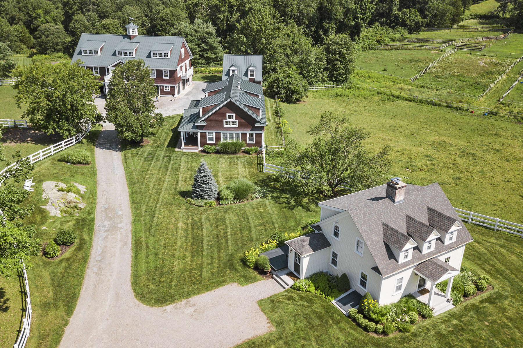 Single Family Home for Active at Unique Equestrian Compound In A Country Club Setting In Dover 1 Hunt Drive Dover, Massachusetts 02030 United States