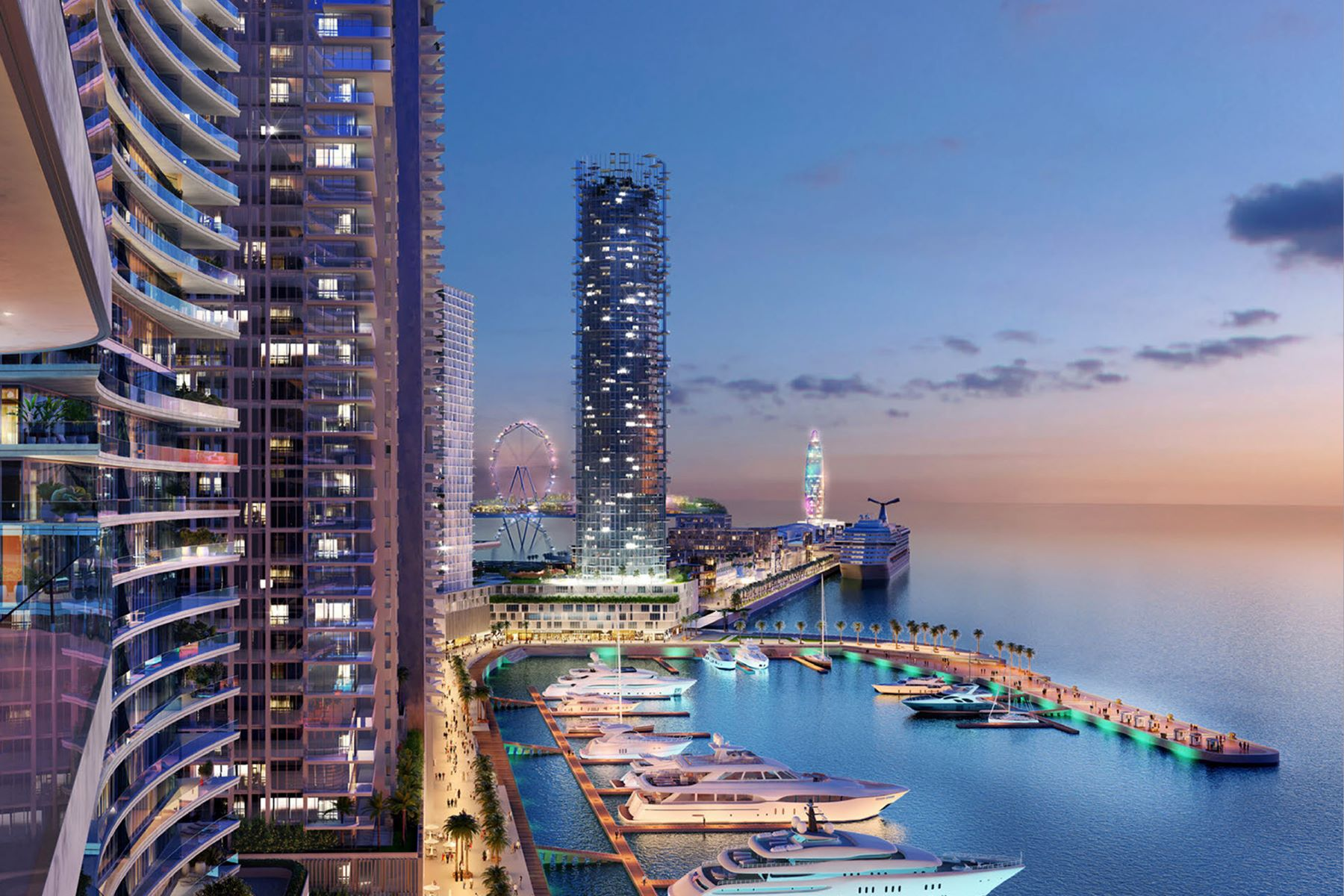 Flat for Sale at Emaar Beach Vista 3 Bedroom Full Sea Views Dubai Harbour Beach Vista Tower 2 Dubai, Dubai 00000 United Arab Emirates