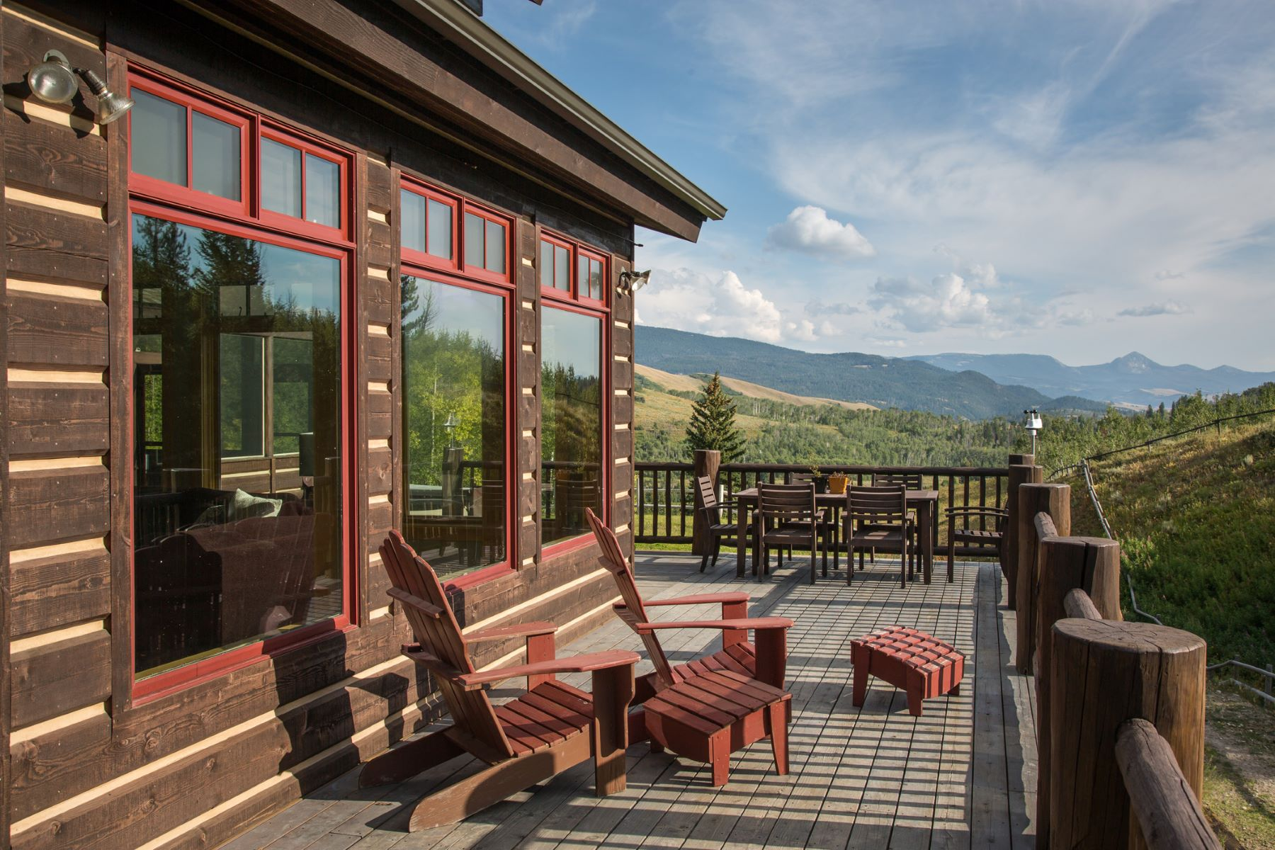 Maison unifamiliale pour l Vente à Outstanding Views 8995 Ditch Creeek RD Kelly, Wyoming, 83011 États-Unis