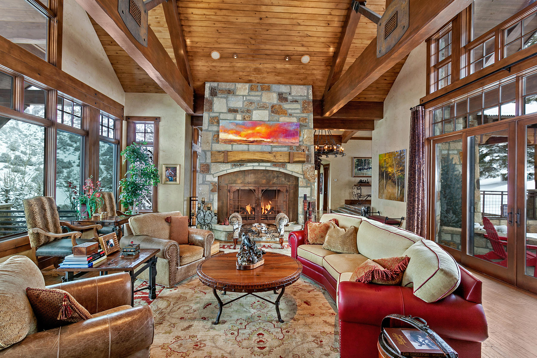 Single Family Home for Active at Cordillera Custom Home 605 Andorra Road Edwards, Colorado 81632 United States