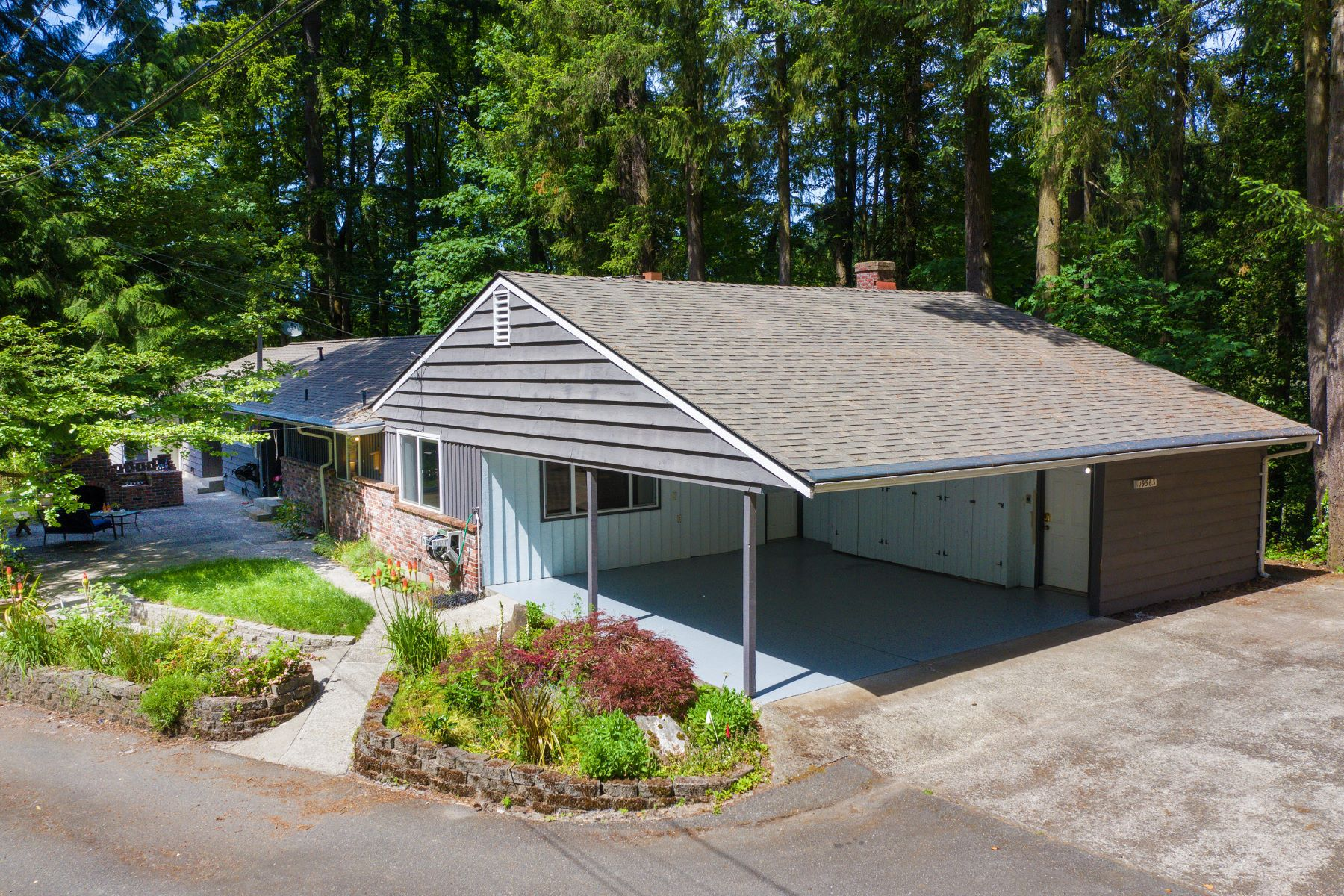 Single Family Homes for Sale at Mid Century Charmer in Lake Forest Park 19563 38th Ave NE, Lake Forest Park, Washington 98155 United States