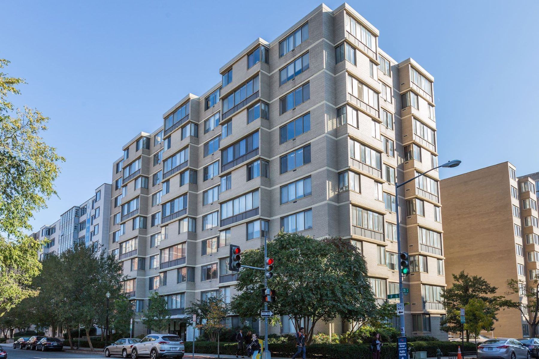 Condominium for Sale at Investor-Friendly Building On Gwu Campus 2030 F Street NW #701 Washington, District Of Columbia 20006 United States