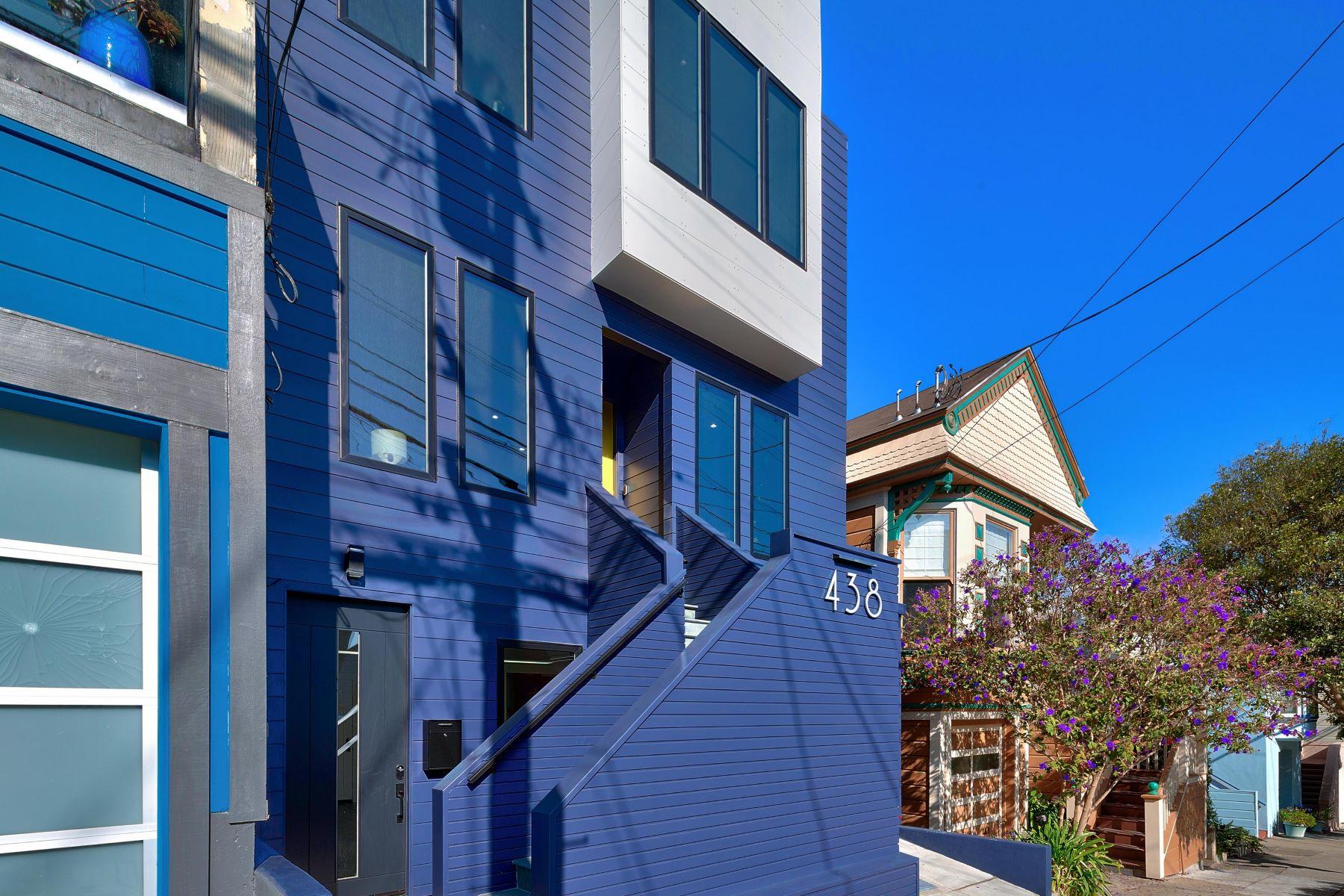 Single Family Homes por un Venta en Noe Valley Classic Contemporary 438 29th Street San Francisco, California 94131 Estados Unidos