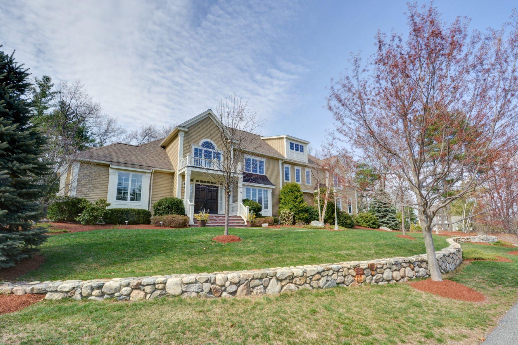 Maison unifamiliale pour l Vente à Luxury Living at The Estates at Page Hill 38 Robinson Drive Bedford, Massachusetts 01730 États-Unis