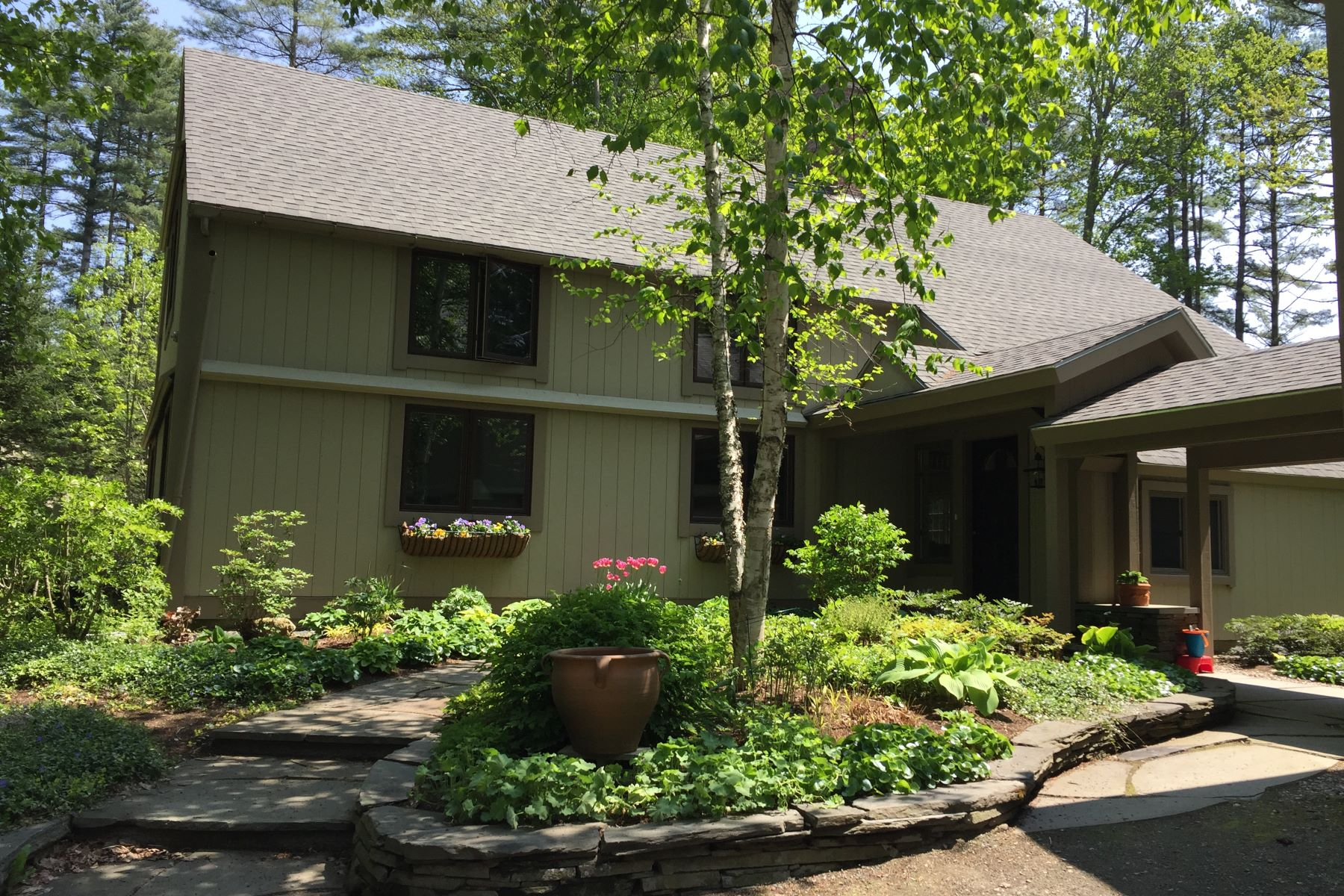 Single Family Home for Sale at Three Bedroom Contemporary in Eastman 38 Fairway Dr Grantham, New Hampshire 03753 United States
