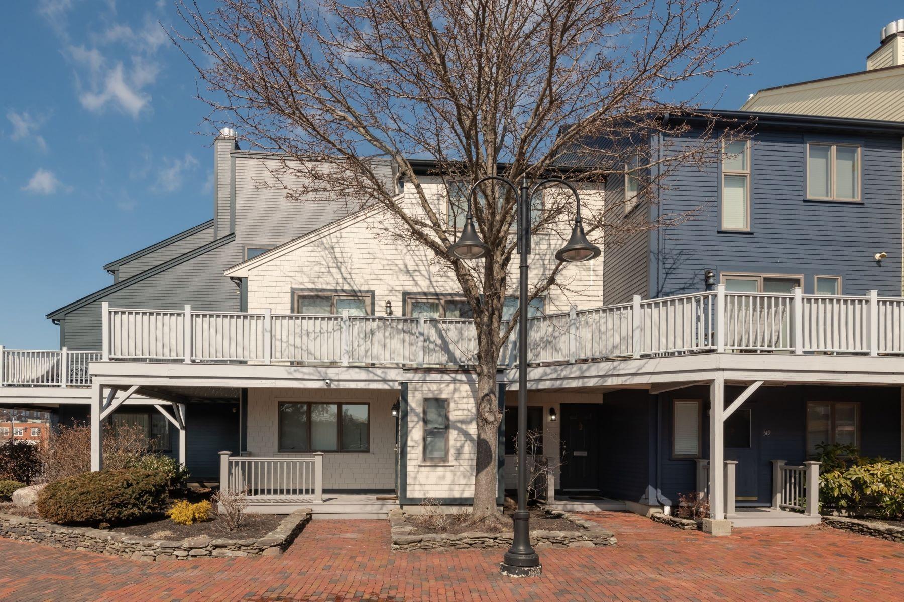 Condominiums for Sale at Brick Market Corner Townhouse 317 Swans Wharf Row Newport, Rhode Island 02840 United States