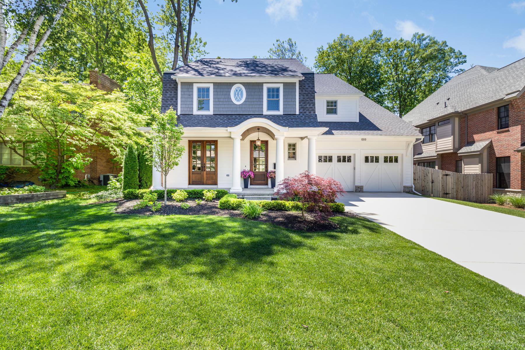 Single Family Homes for Active at Birmingham 680 Shepardbush Street Birmingham, Michigan 48009 United States