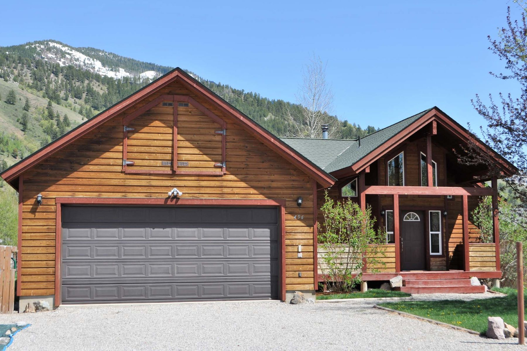 Single Family Home for Sale at Updated Three Bedroom Home in Alpine 456 Greys River Loop Alpine, Wyoming 83128 United States