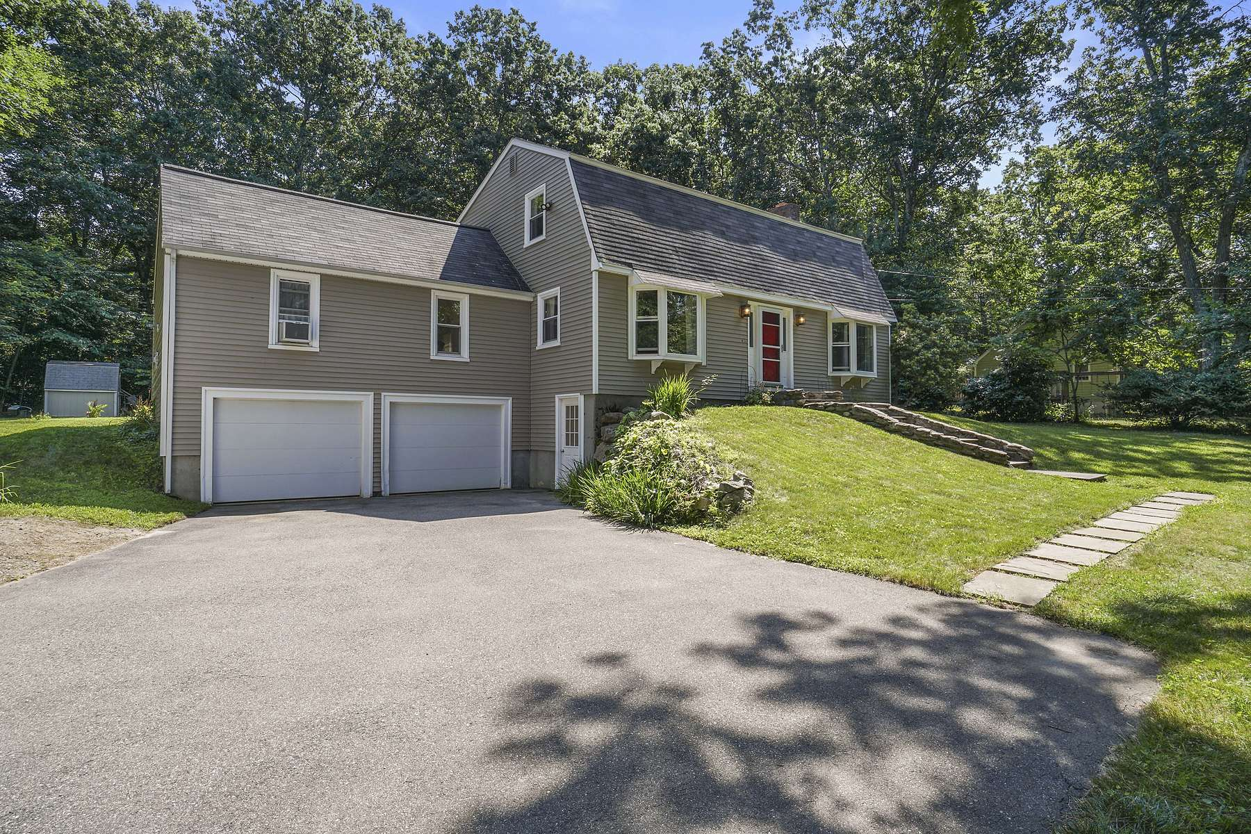 Single Family Homes for Sale at Gambrel Style Colonial 71 Thomas St Ashland, Massachusetts 01721 United States