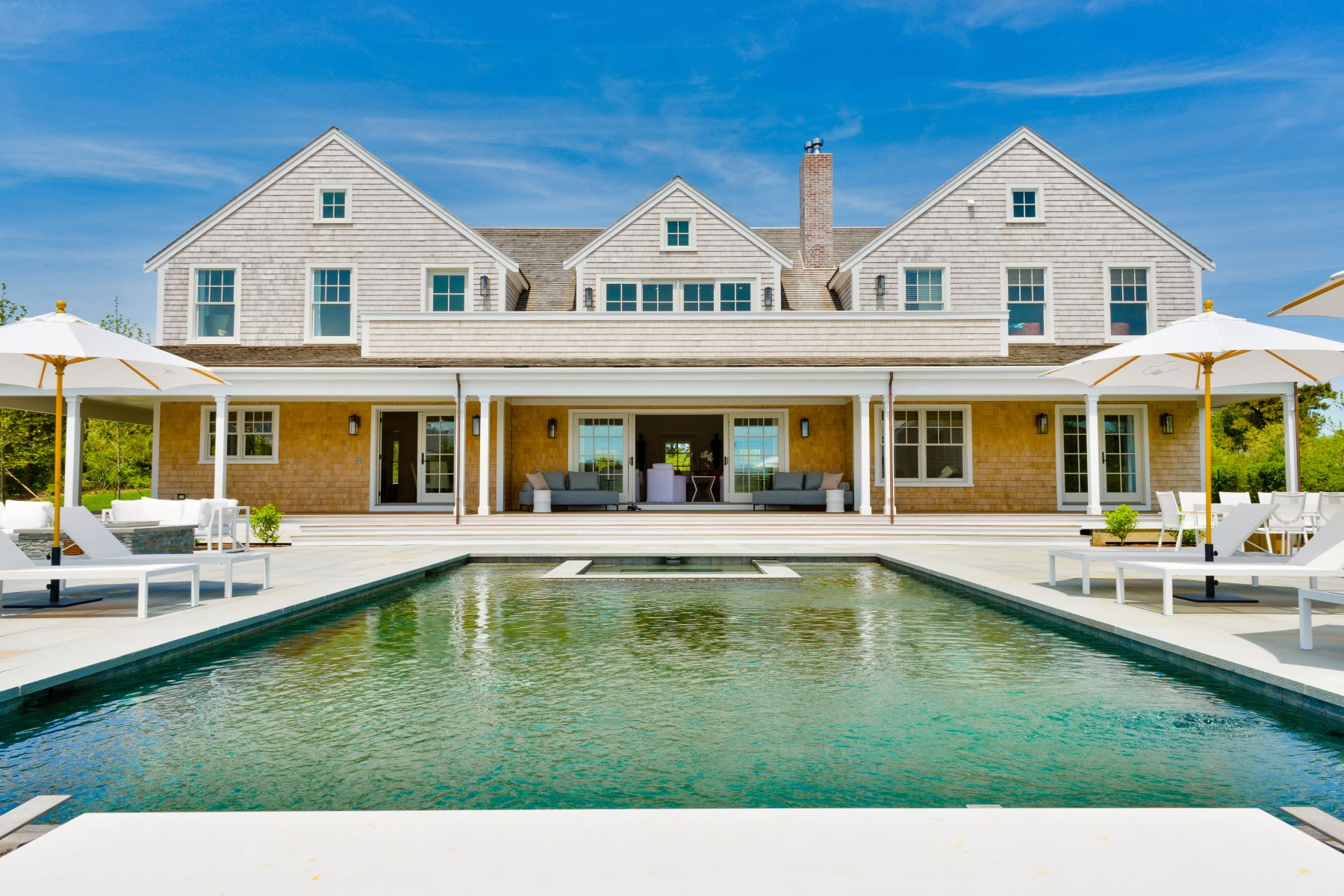 Single Family Homes for Sale at BRAND NEW CONSTRUCTION AND CONTEMPORARY STYLING 18 Bishops Rise Nantucket, Massachusetts 02554 United States
