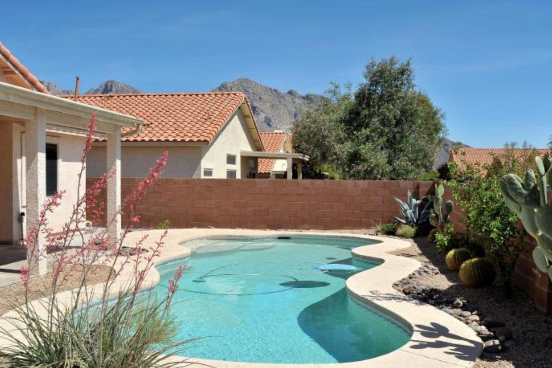 Moradia para Venda às Oro Valley 10551 N. Camino Rosas Nuevas Oro Valley, Arizona, 85737 Estados Unidos