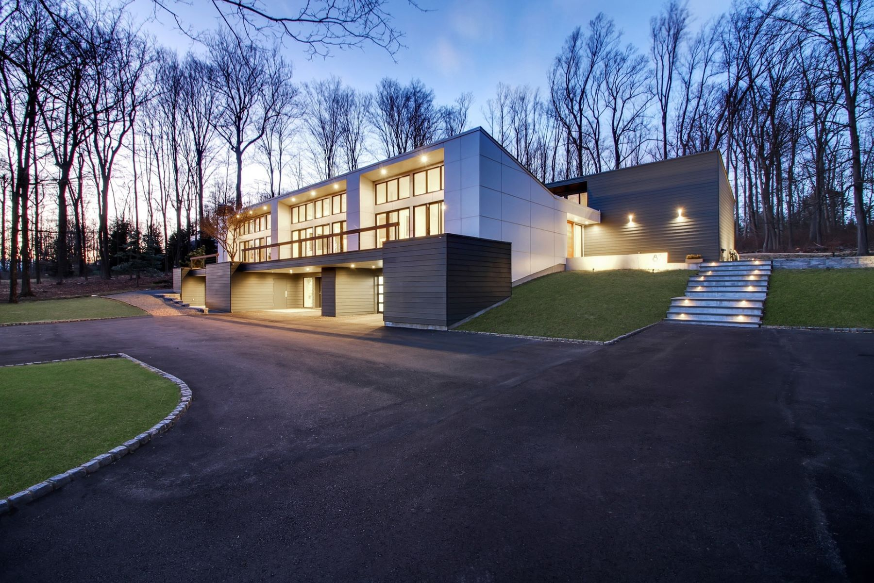 Single Family Homes pour l Vente à Modern Masterpiece 83 Pleasantville Road, New Vernon, New Jersey 07976 États-Unis