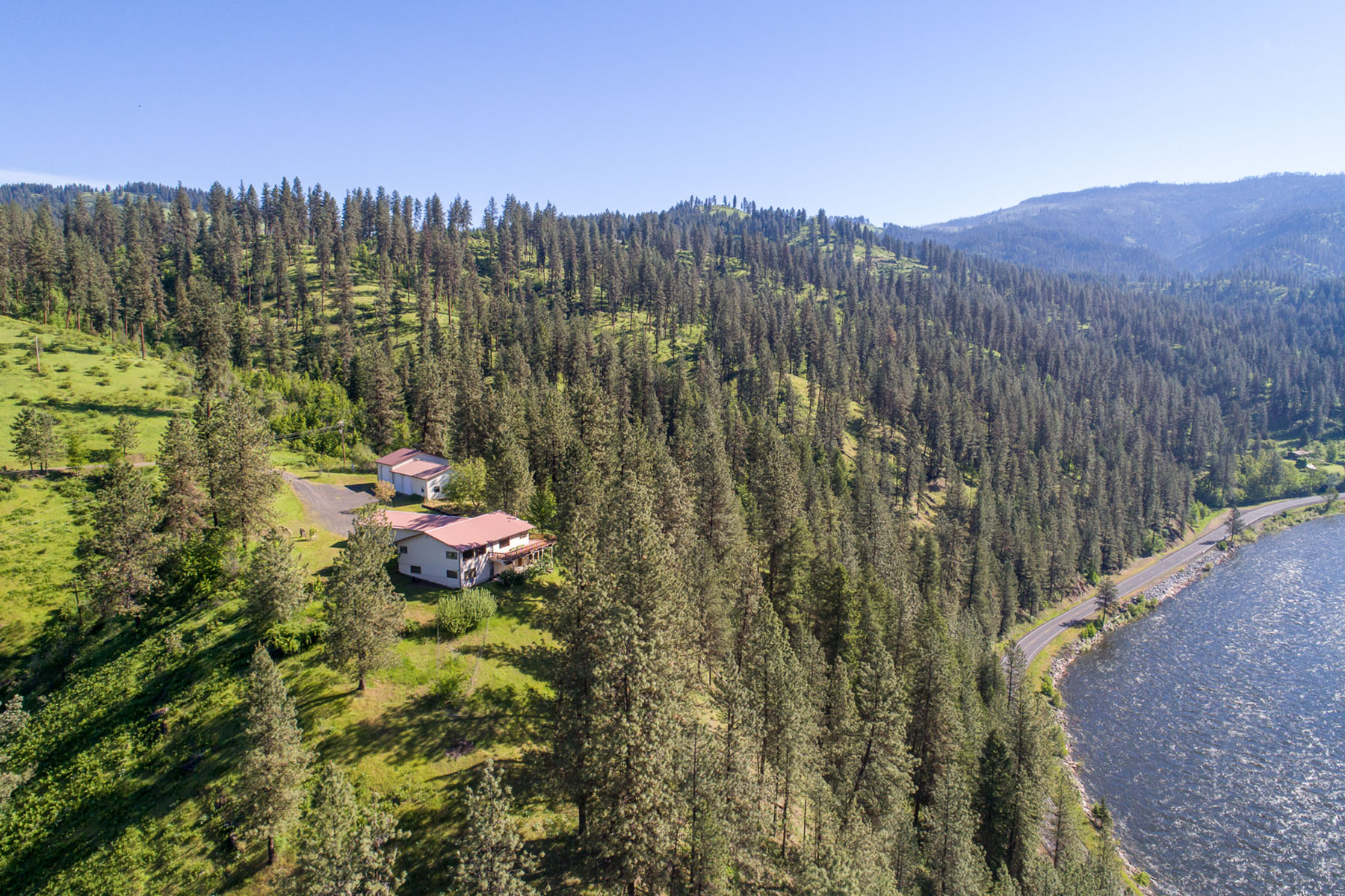Vivienda unifamiliar por un Venta en Suttler Creek with Sportsman Access 172 Suttler Creek Road, Kooskia, Idaho, 83539 Estados Unidos