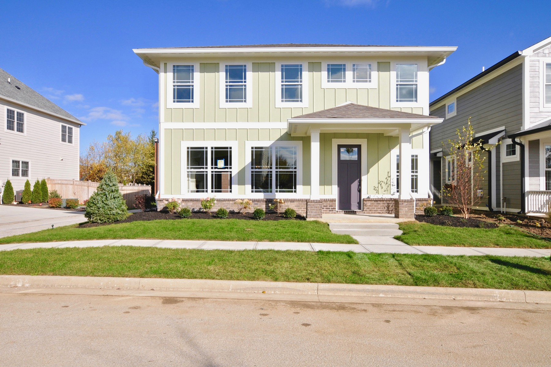 Single Family Home for Rent at Brand New 3 Bedroom Home in Stonegate 7636 Beekman Terrace Zionsville, Indiana 46077 United States