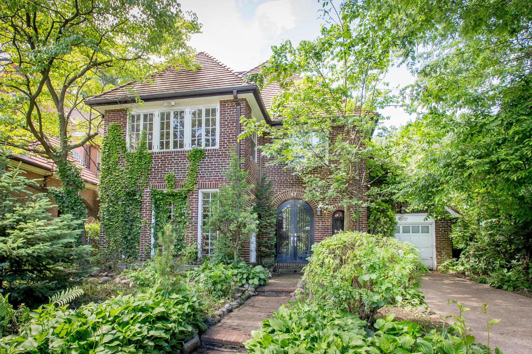 """Single Family Homes för Försäljning vid """"FRENCH COUNTRY TUDOR"""" 47 Beechknoll Road, Forest Hills Gardens,, Queens, New York 11375 Förenta staterna"""