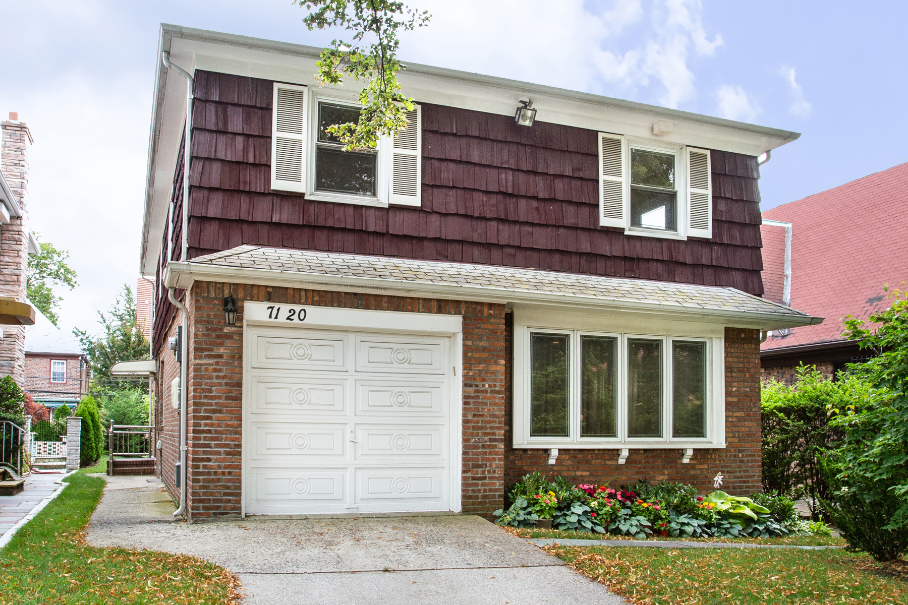 """Single Family Homes for Sale at """"DESIRABLE CUSTOM CONTEMPORARY IN VAN COURT"""" 71-20 Harrow Street,, Forest Hills Van Court, Forest Hills, New York 11375 United States"""