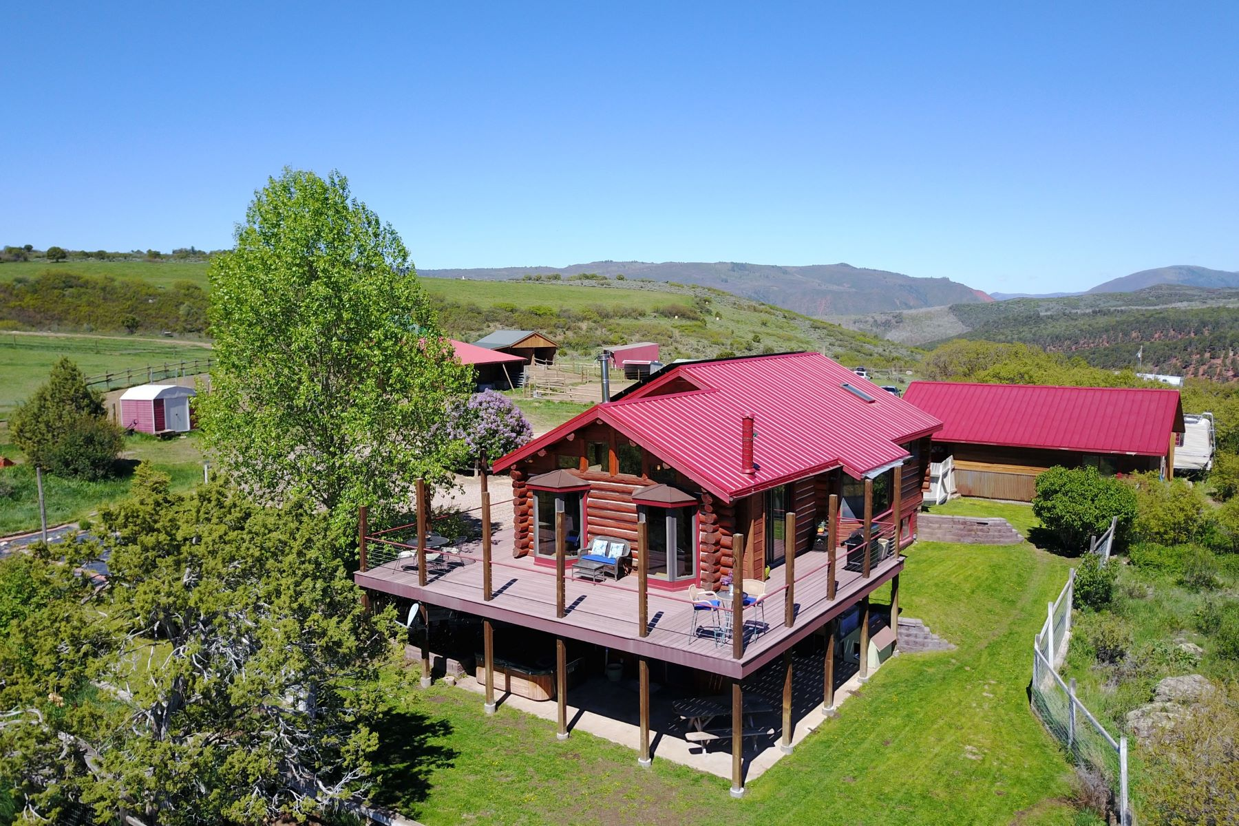 Single Family Home for Sale at Custom Country Horse Property 0263 CR 119 Glenwood Springs, Colorado, 81601 United States
